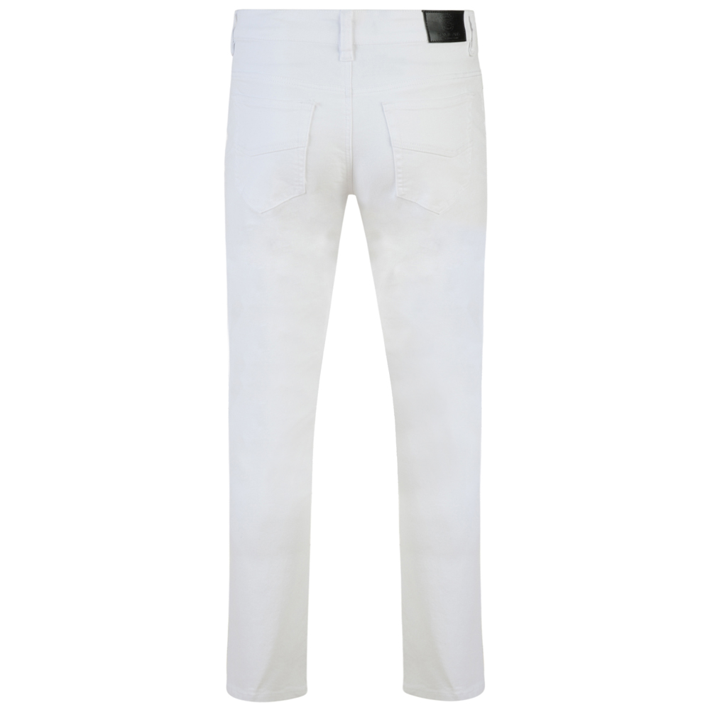 Kam-Jeanswear-Mens-Alba-Slim-Fit-Chino-Jeans-KJ114 thumbnail 11