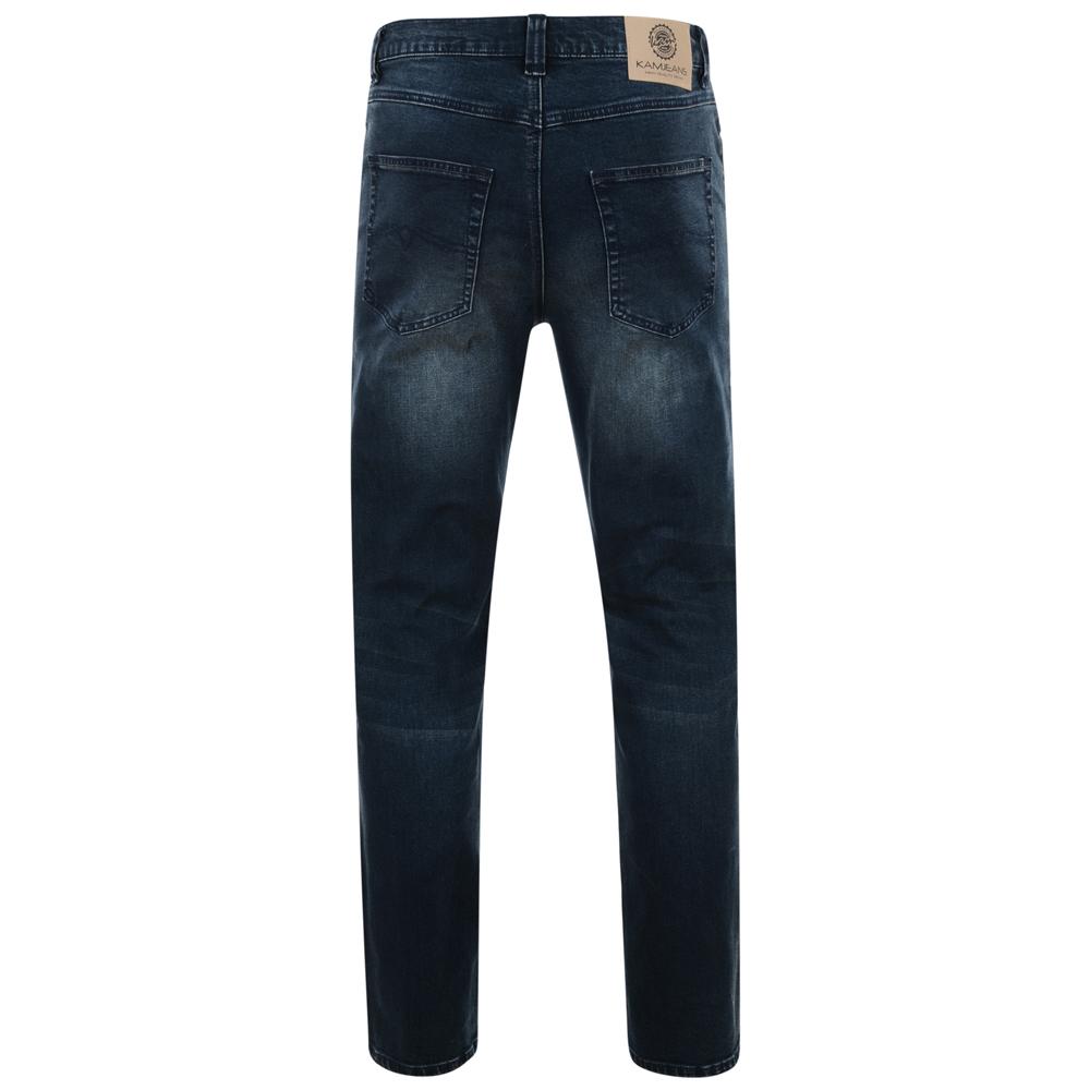 Kam-Jeanswear-Mens-Aron-Stretch-Jeans-KJ162 thumbnail 4
