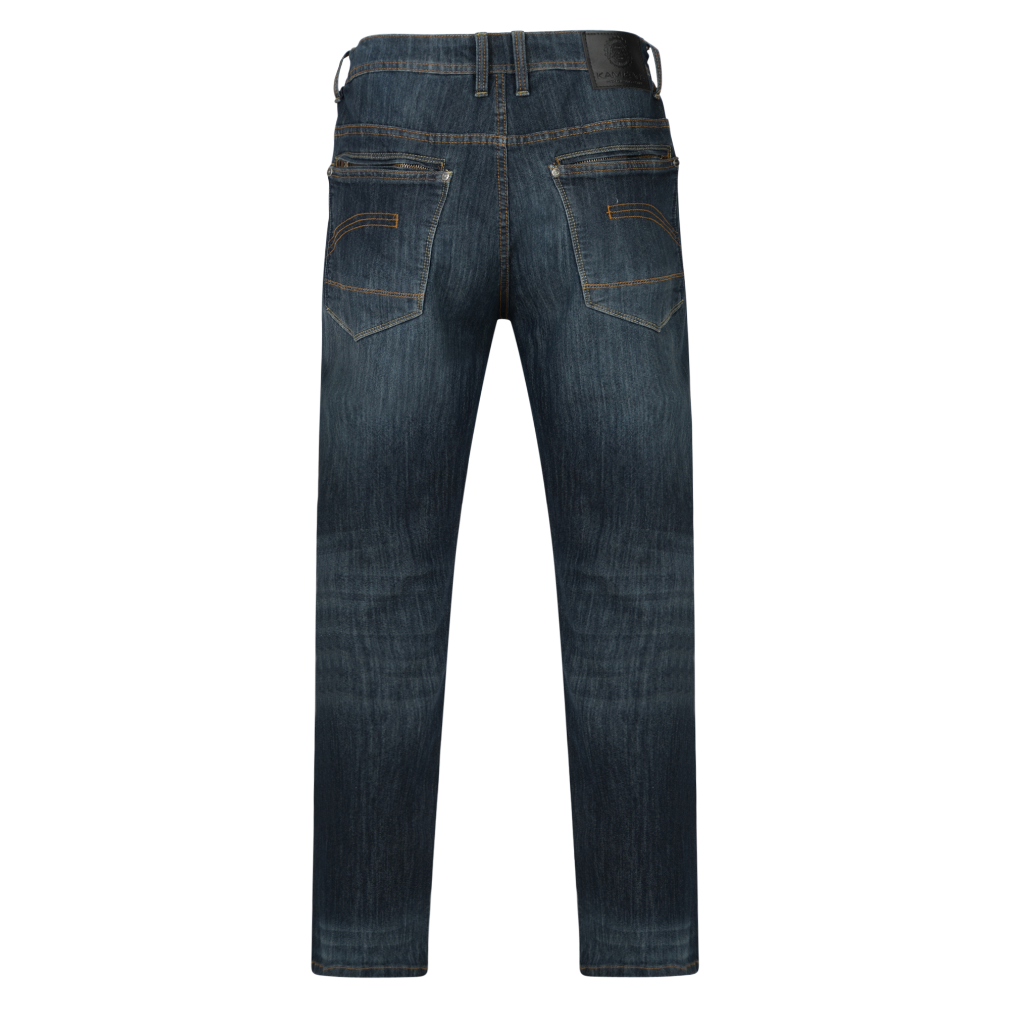 Kam-Jeanswear-Mens-Rory-Stretch-Jeans-KJ177 thumbnail 4
