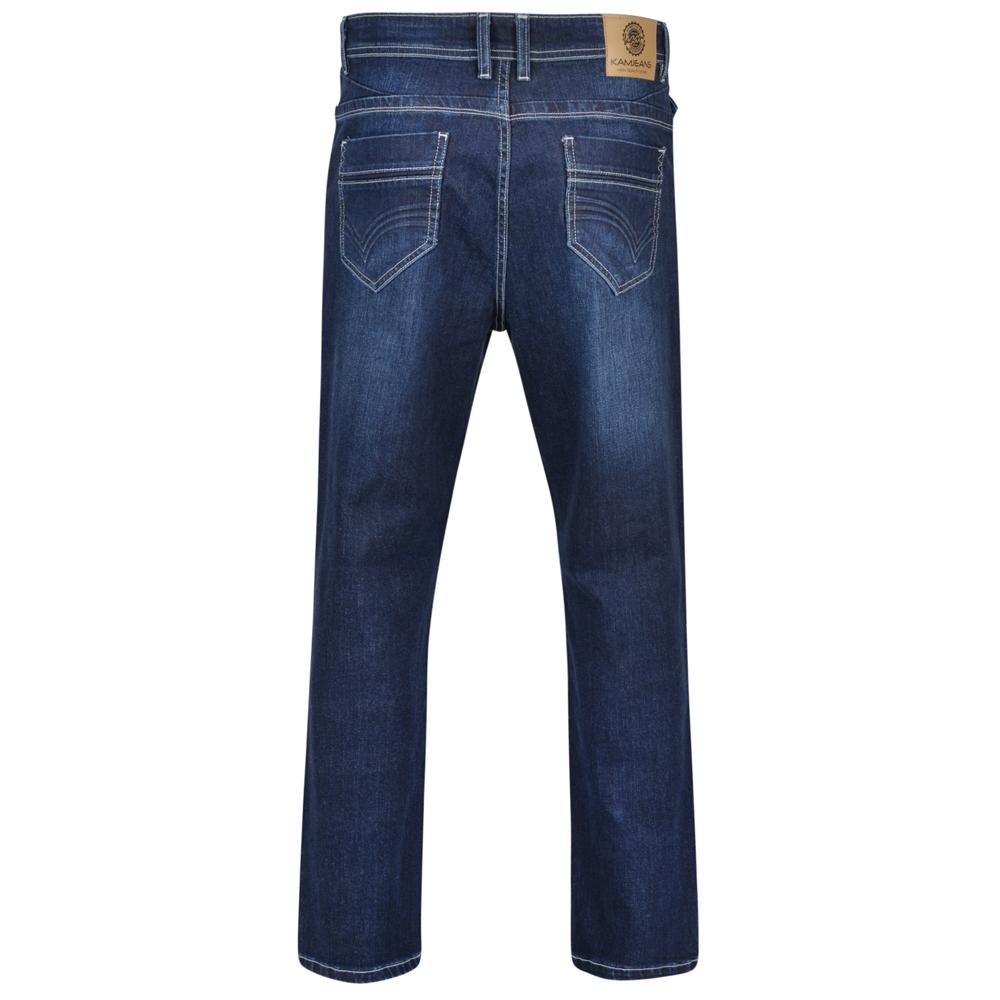 Kam-Jeanswear-Mens-Alonso-Stretch-Jeans-KJ181 thumbnail 5