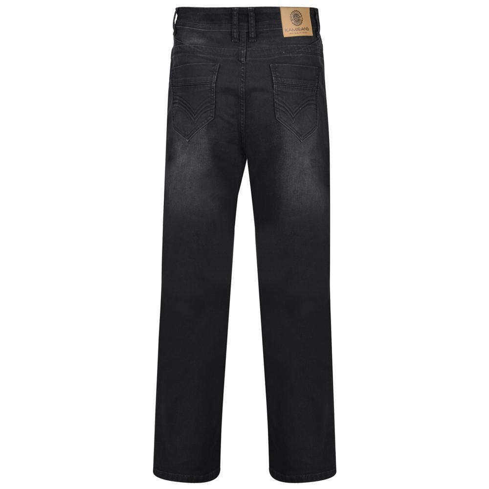 Kam-Jeanswear-Mens-Alonso-Stretch-Jeans-KJ181 thumbnail 3
