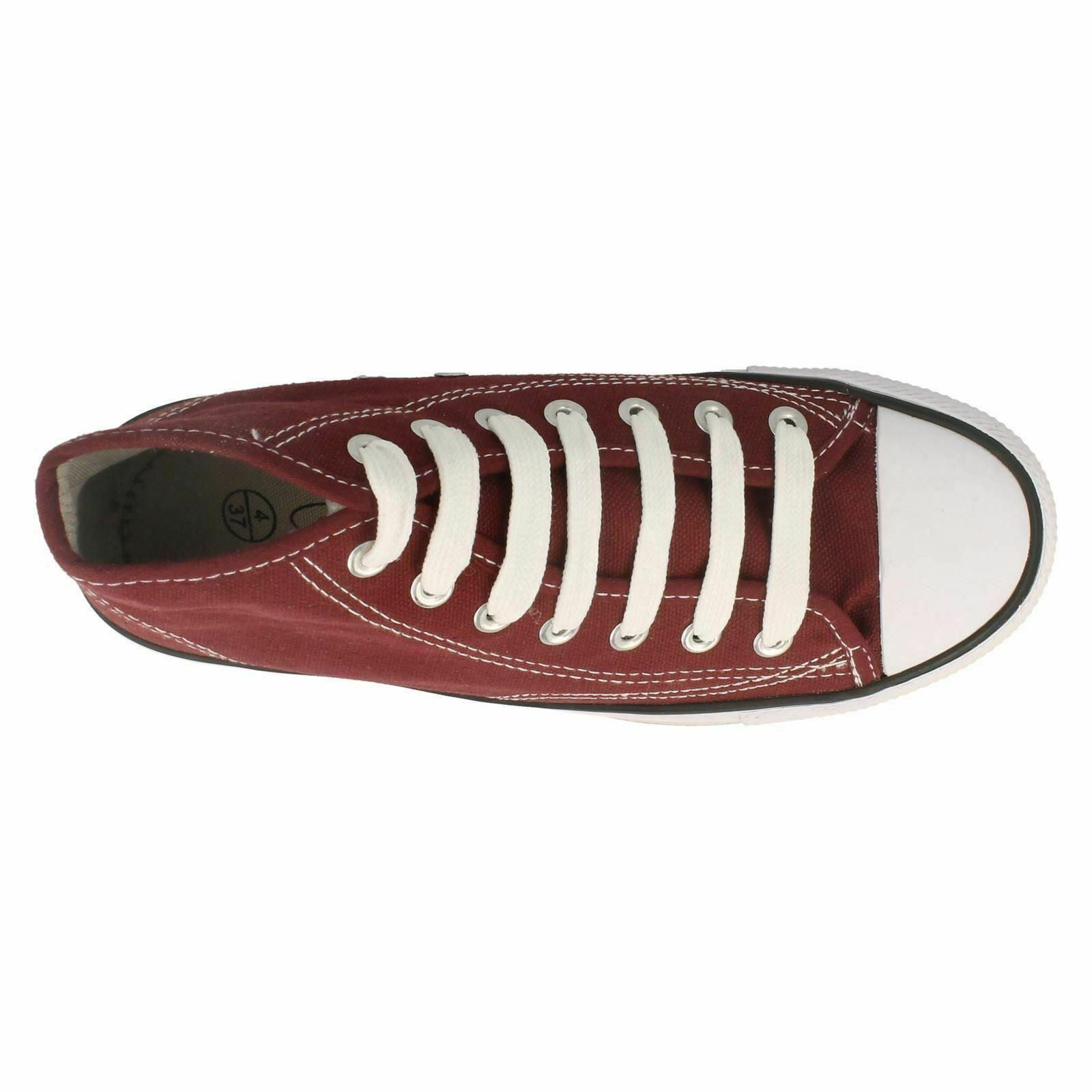Spot-On-Chaussures-hautes-en-toile-Homme-KM565 miniature 15