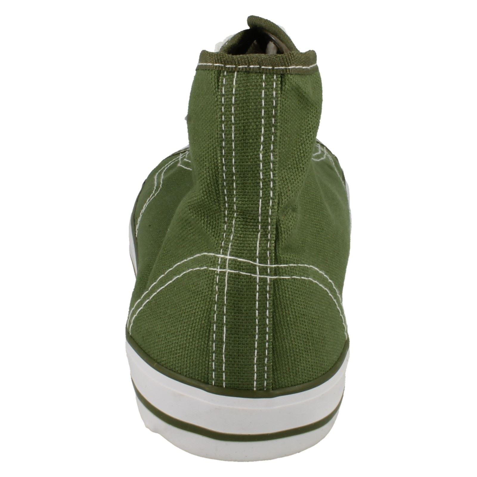 Spot-On-Chaussures-hautes-en-toile-Homme-KM565 miniature 17