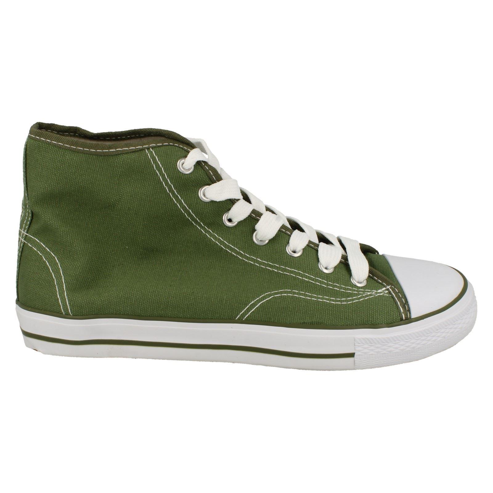 Spot-On-Chaussures-hautes-en-toile-Homme-KM565 miniature 18