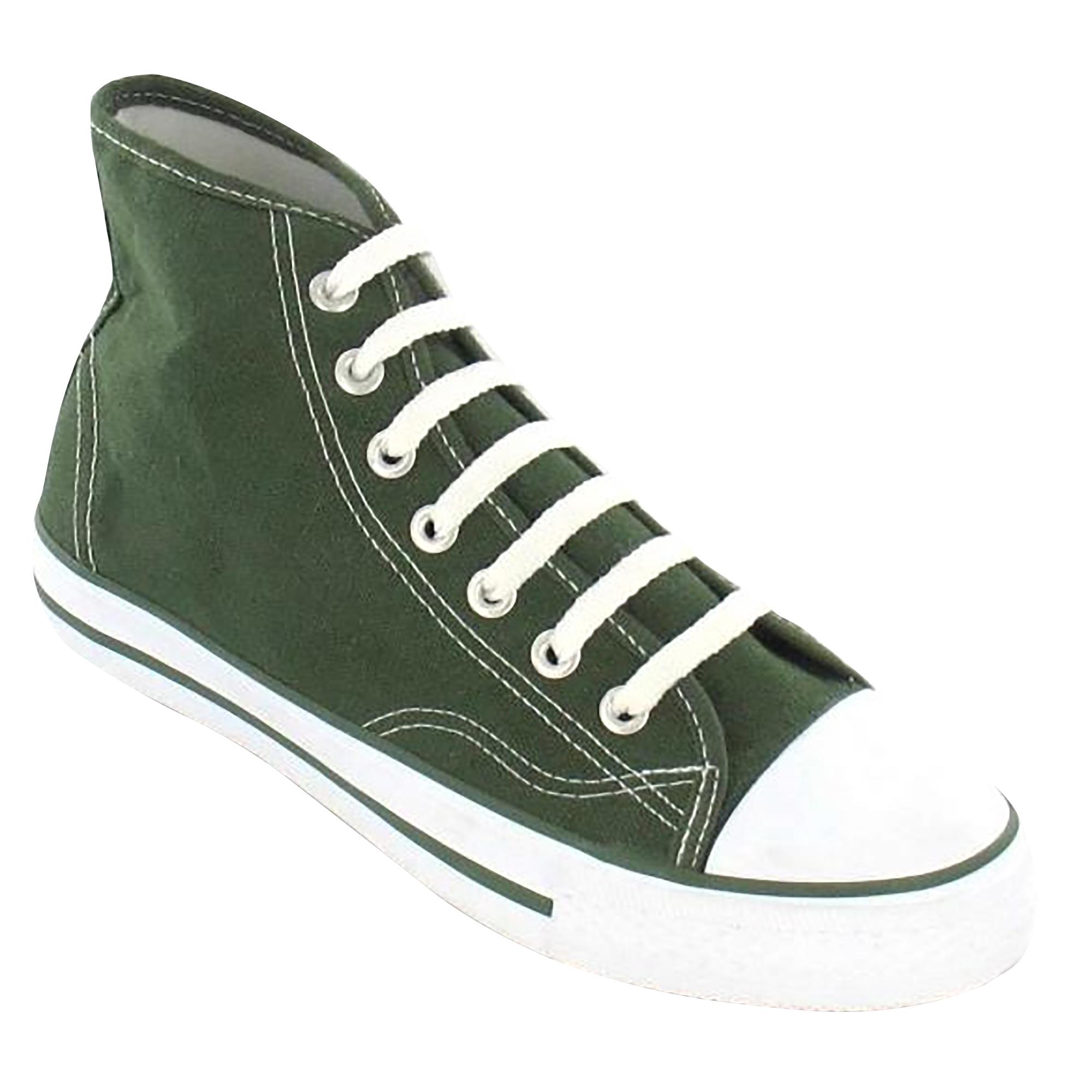 Spot-On-Chaussures-hautes-en-toile-Homme-KM565 miniature 19