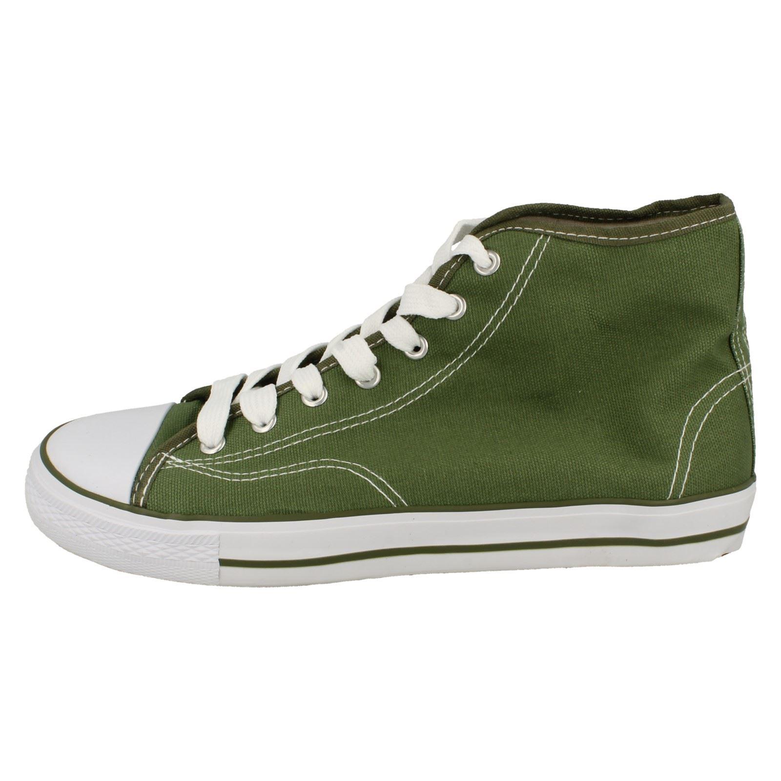 Spot-On-Chaussures-hautes-en-toile-Homme-KM565 miniature 20
