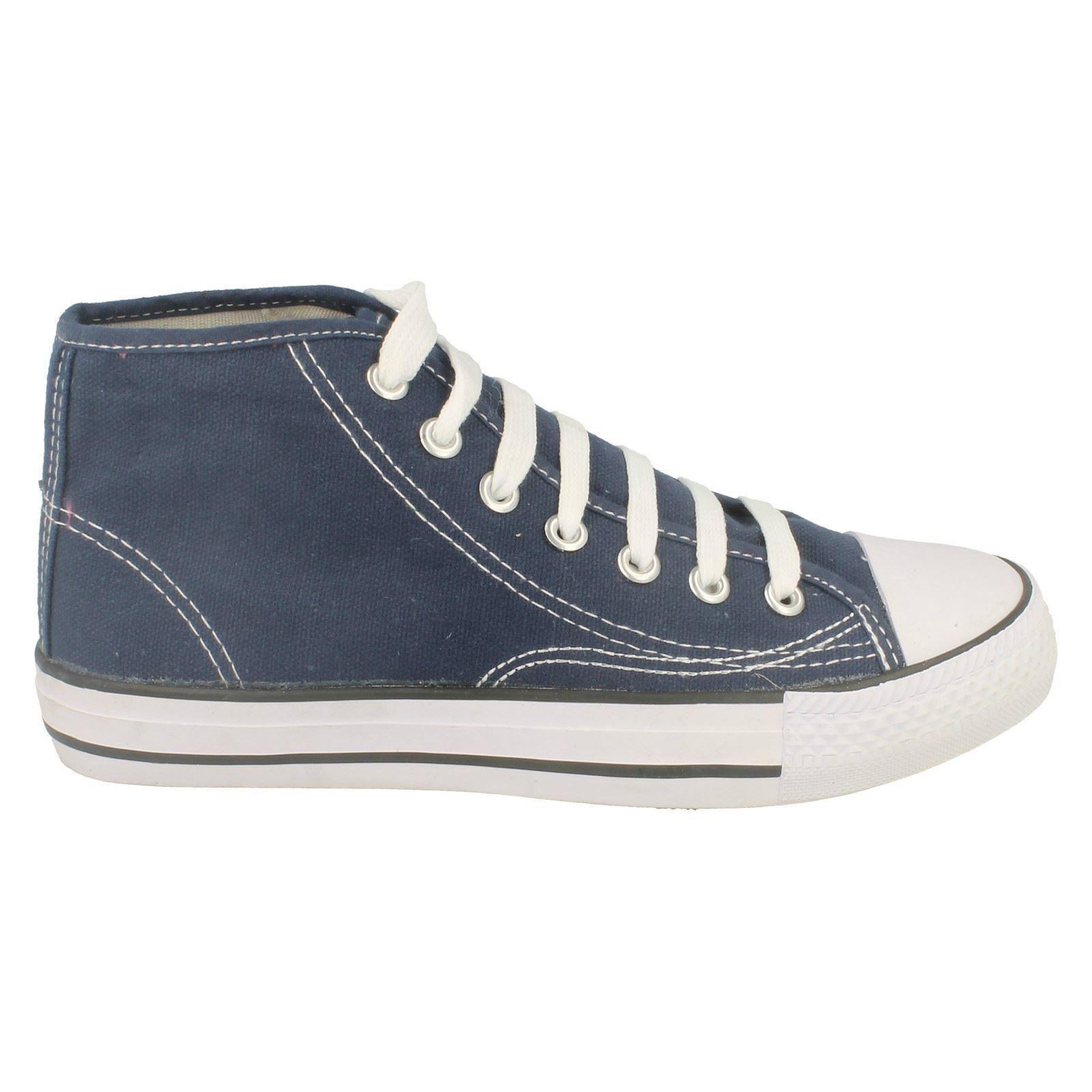 Spot-On-Chaussures-hautes-en-toile-Homme-KM565 miniature 8