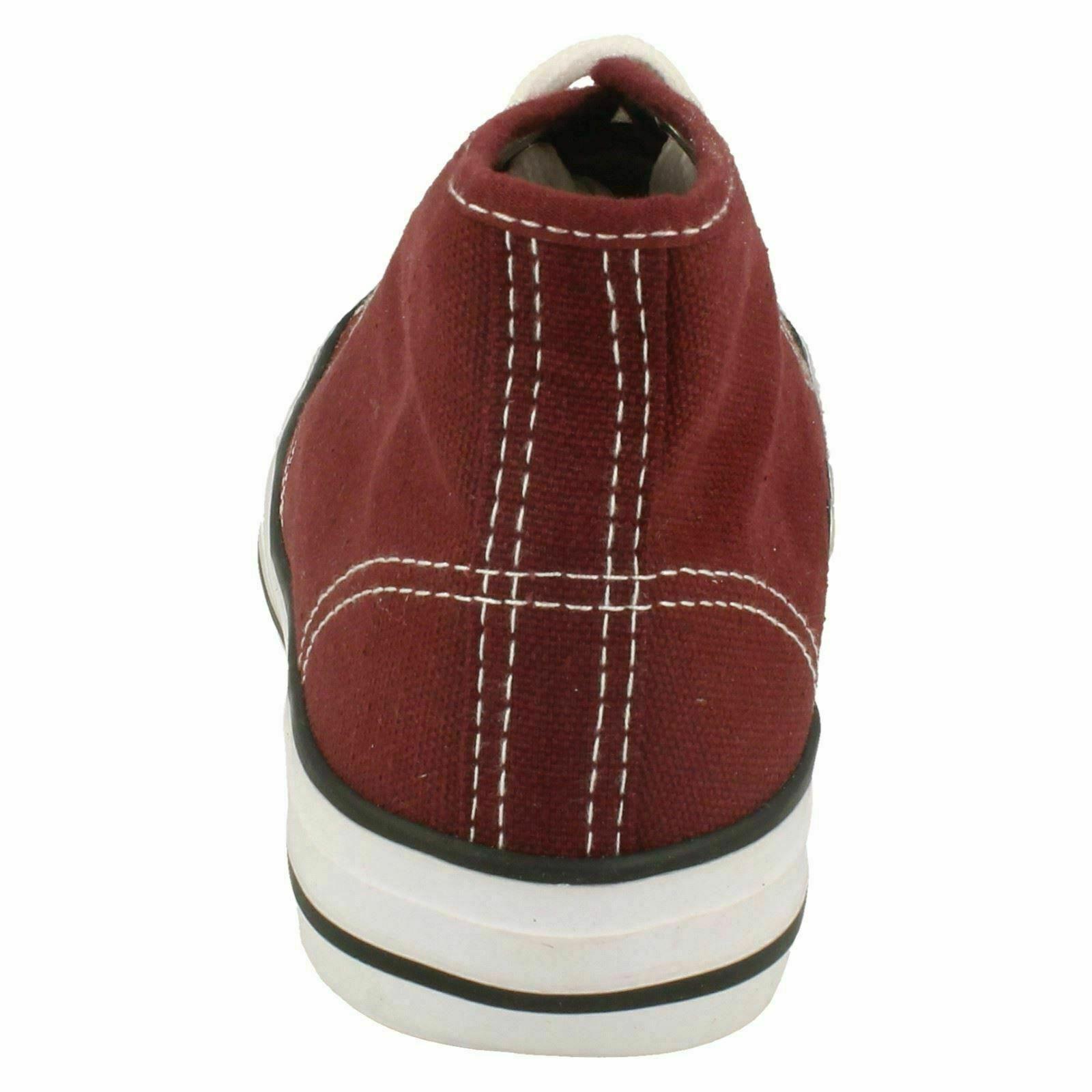 Spot-On-Chaussures-hautes-en-toile-Homme-KM565 miniature 12