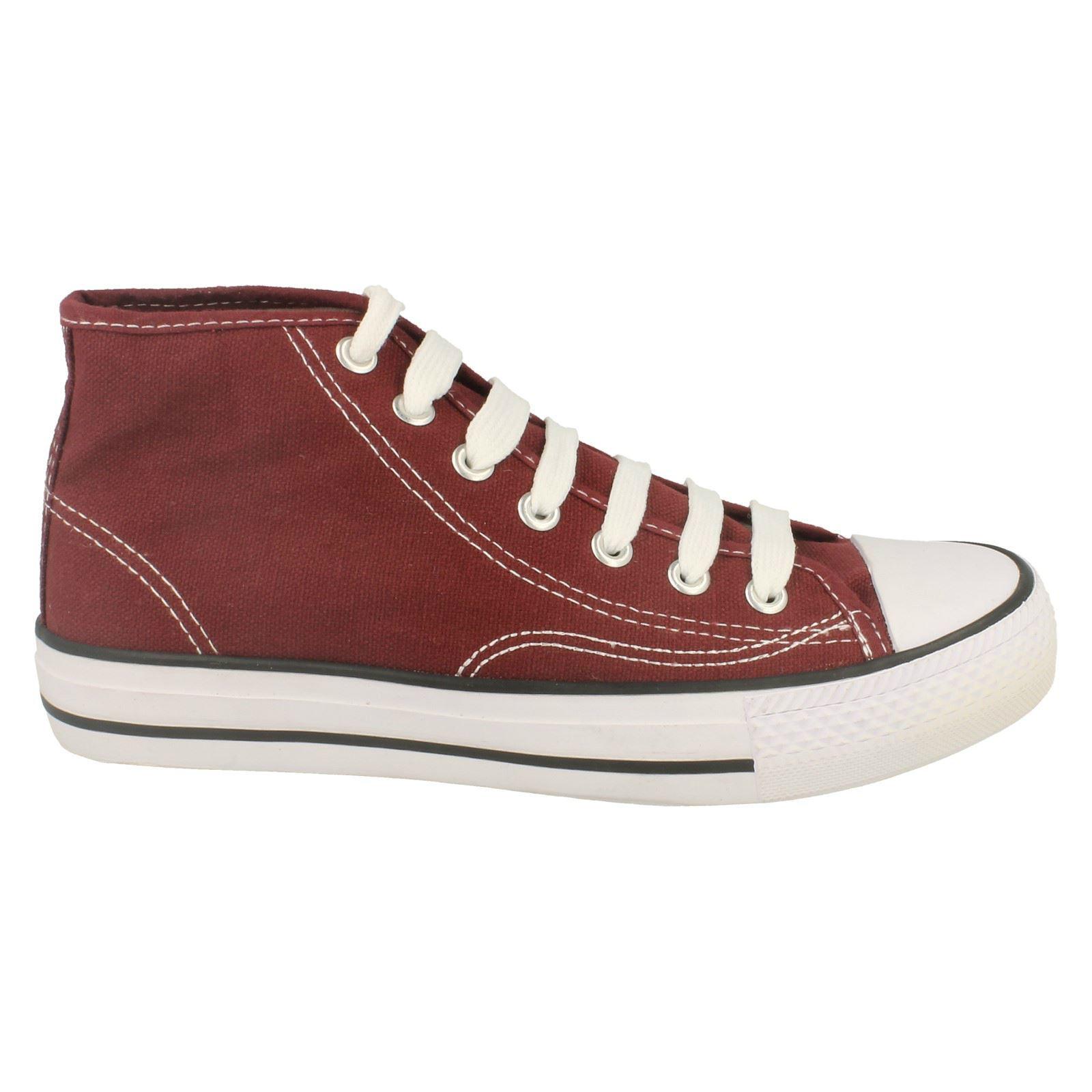 Spot-On-Chaussures-hautes-en-toile-Homme-KM565 miniature 13