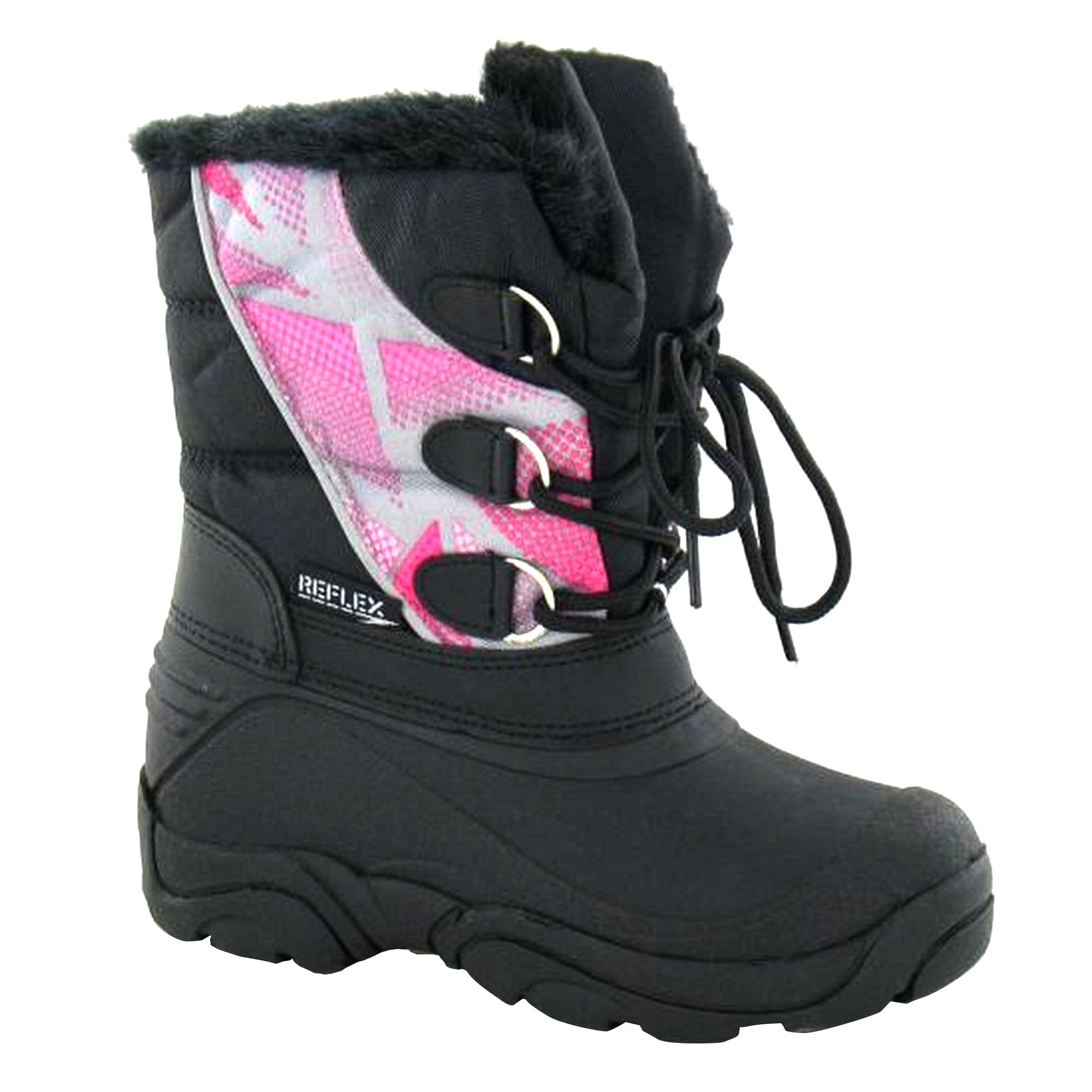Cutie-Childrens-Girls-Faux-Fur-Snow-Boots-KM588