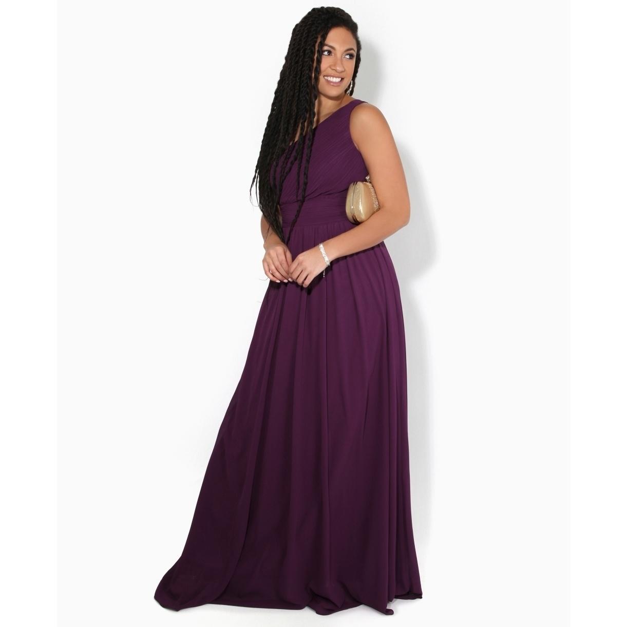 Krisp Womens/Ladies One Shoulder Evening Maxi Dress (16 UK) (Turquoise)