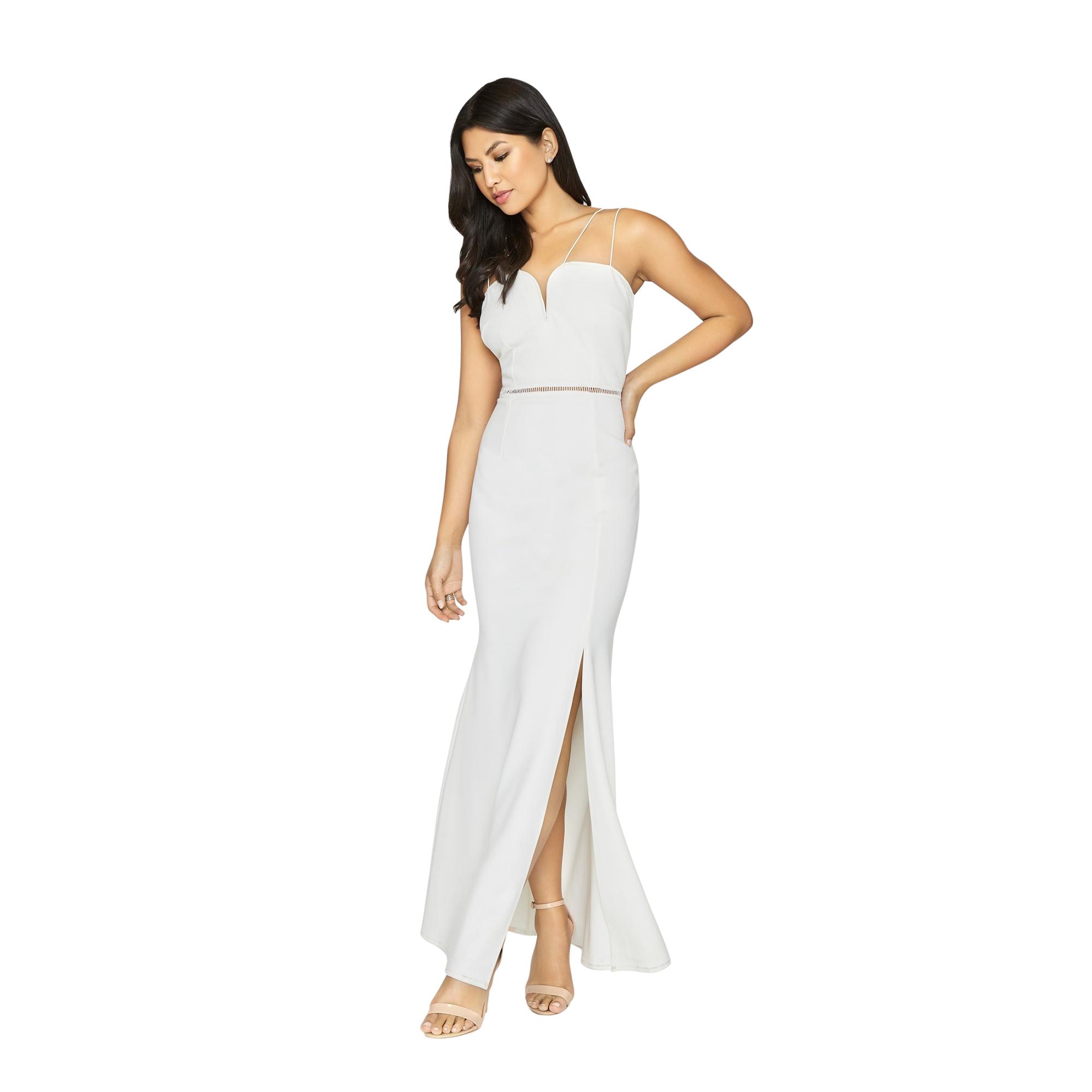 Girls On Film Womens/Ladies Midas Touch Sweetheart Maxi Dress (10 UK) (White)