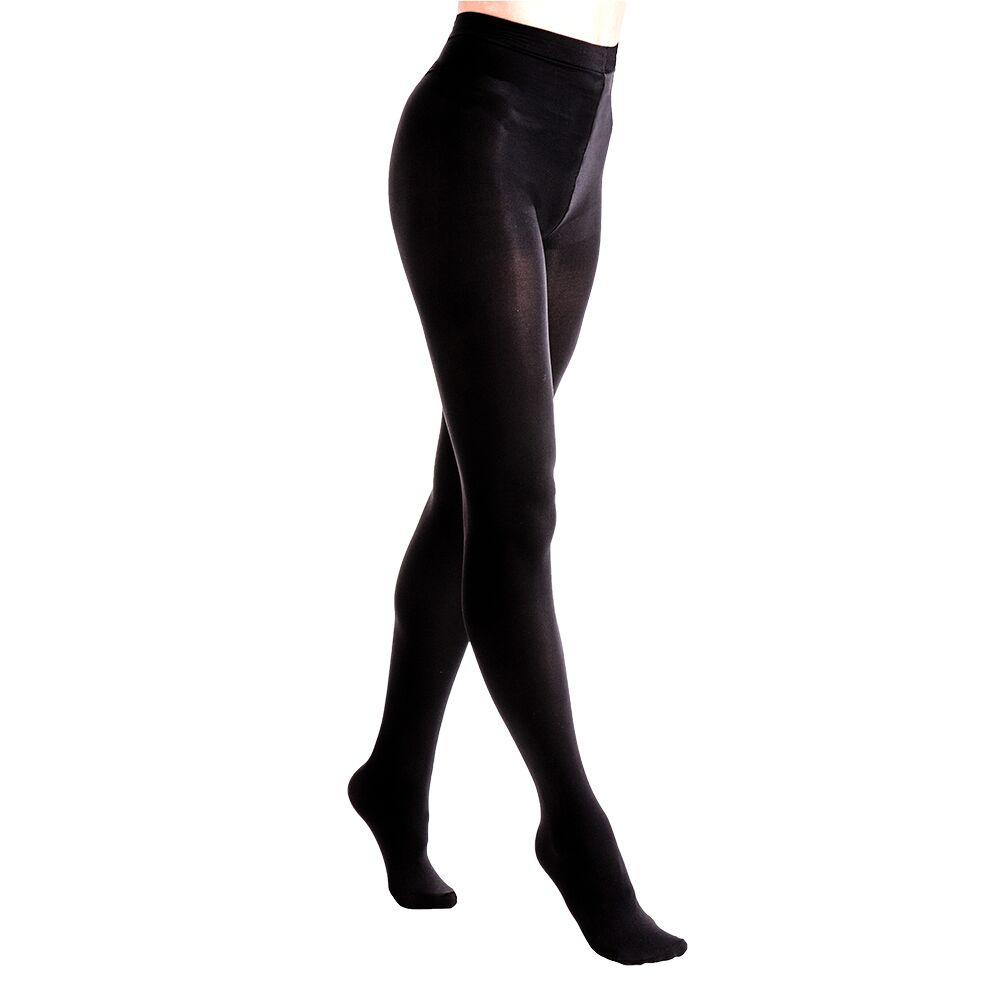 Couture Womens/Ladies Blackout Matte Opaque Tights (1 Pair) (42 - 48 Inch) (Black)