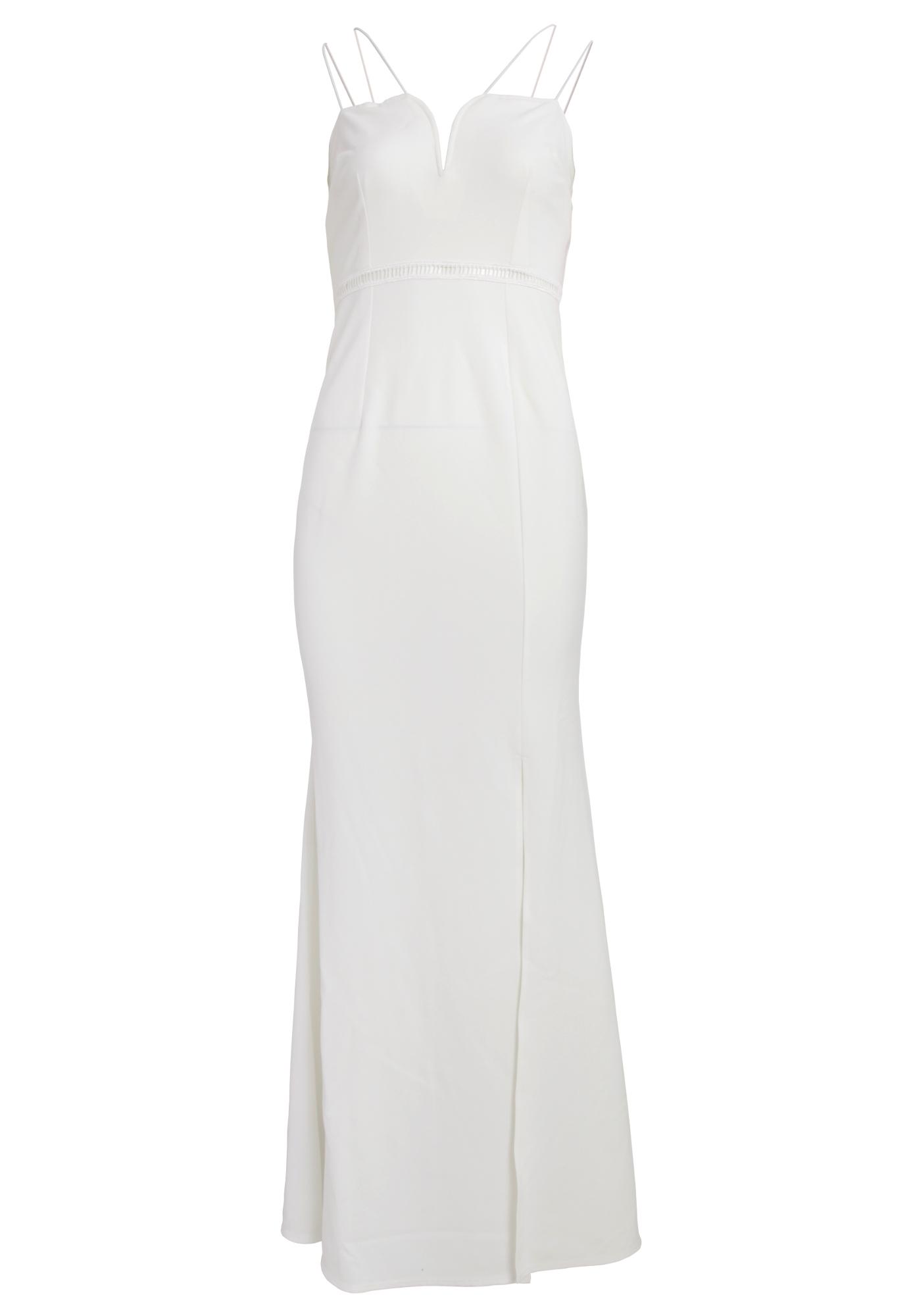 Girls On Film Womens/Ladies Midas Touch Sweetheart Maxi Dress (12 UK) (White)