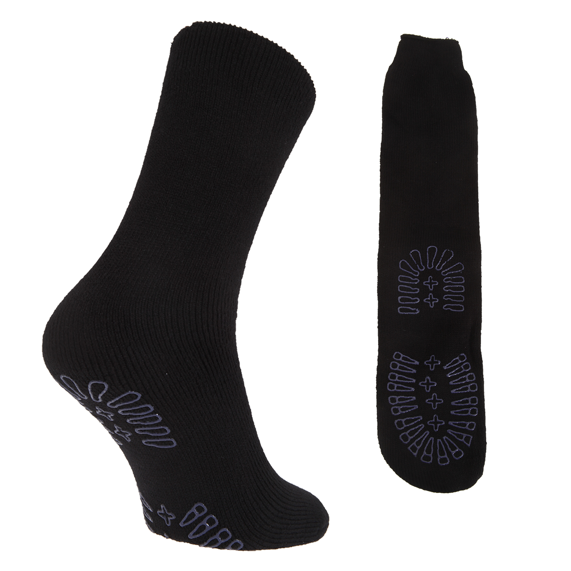 chaussettes chaussons thermiques et antid rapantes 1 paire homme eur 41 46 ebay. Black Bedroom Furniture Sets. Home Design Ideas