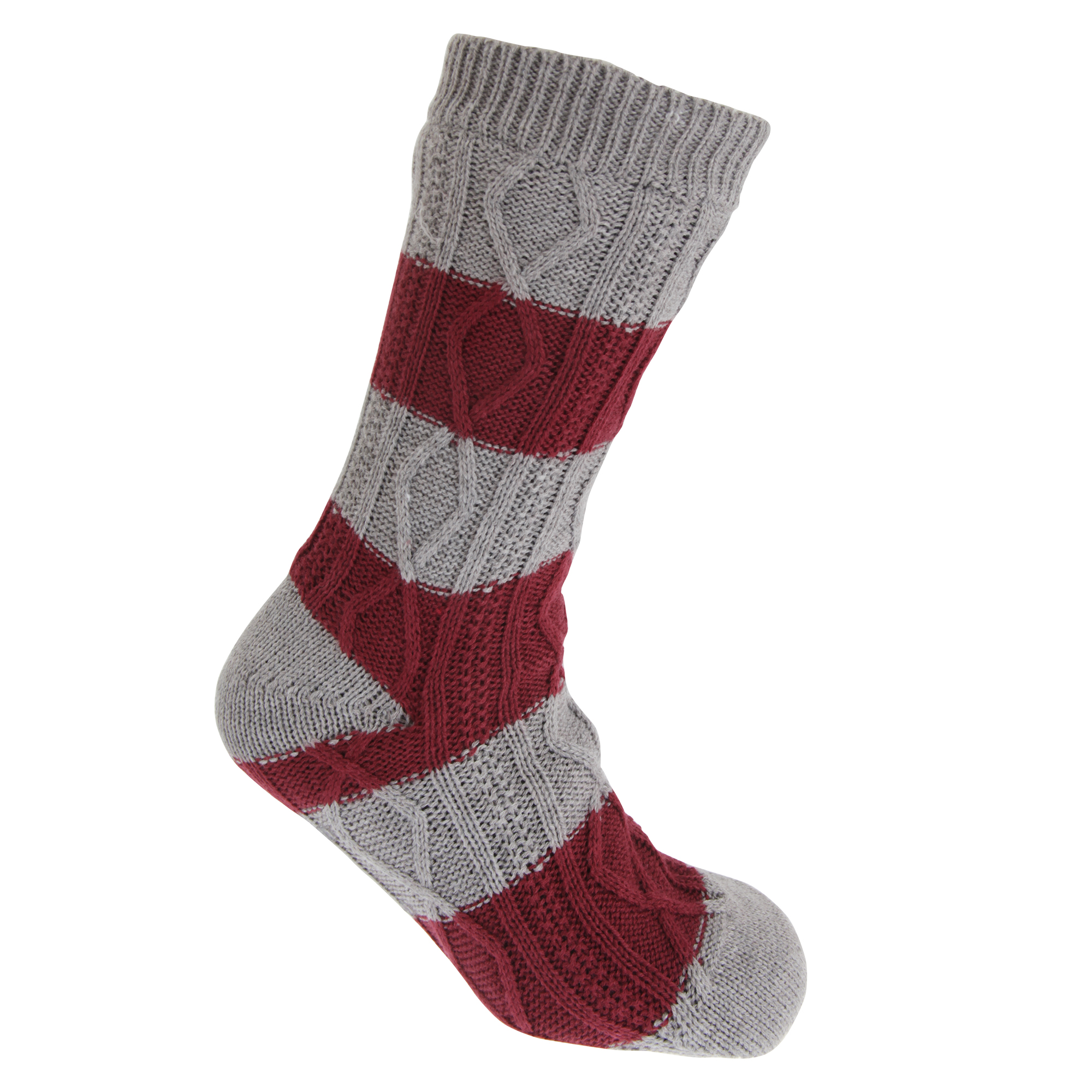 Tom Franks Mens Cable Knit Slipper Socks 1 Pair Mb526 Ebay