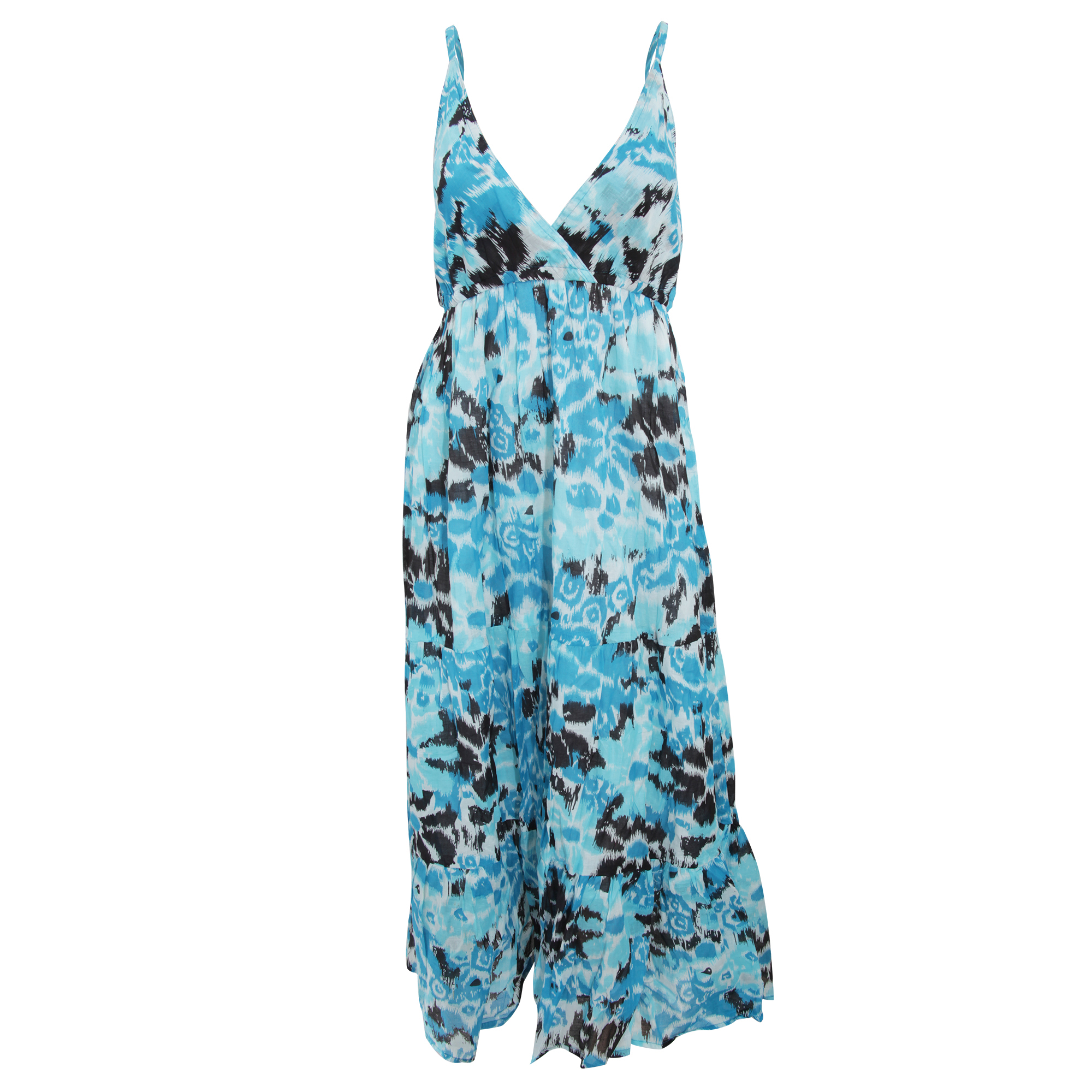 Bulk, Wholesale, Job Lot, Clearance Assorted Clothing (Dresses, Tops, Footwear And More) (Box 12) (Womens Blue Maxi Dresses (Set of 37))