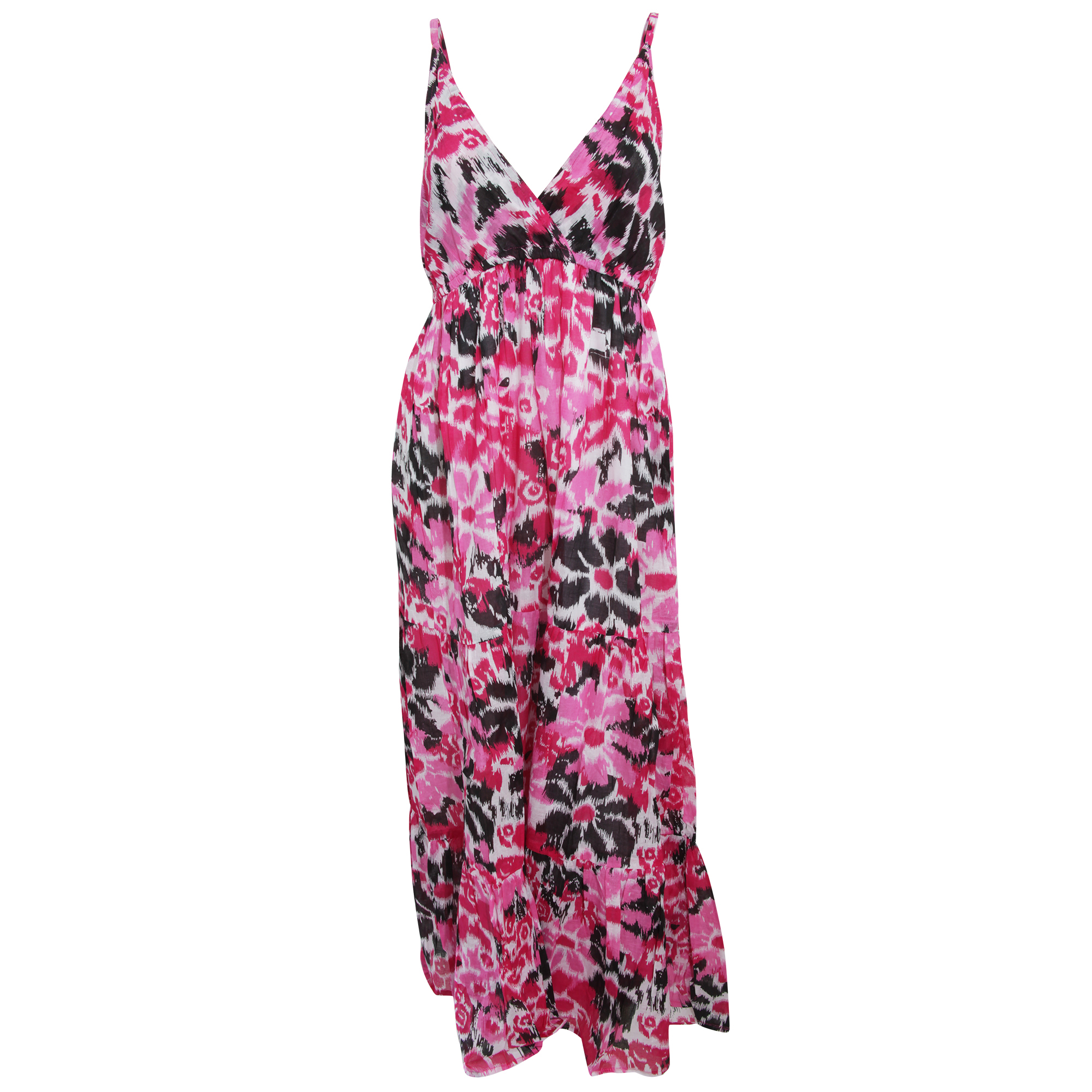 Bulk, Wholesale, Job Lot, Clearance Assorted Clothing (Dresses, Tops, Footwear And More) (Box 13) (Womens Pink Maxi Dresses (Set of 28))