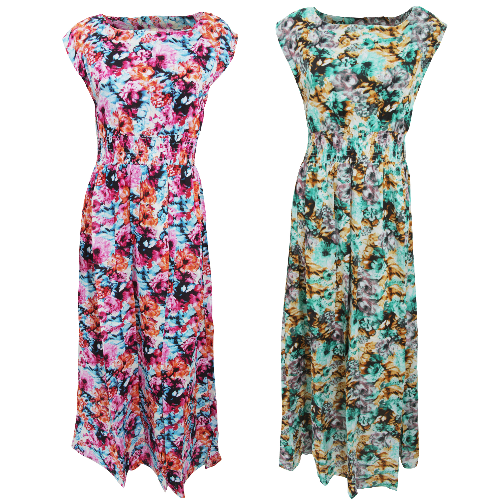 Bulk, Wholesale, Job Lot, Clearance Assorted Clothing (Dresses, Tops, Footwear And More) (Box 15) (Womens Floral Sleeveless Dresses (Set of 29))