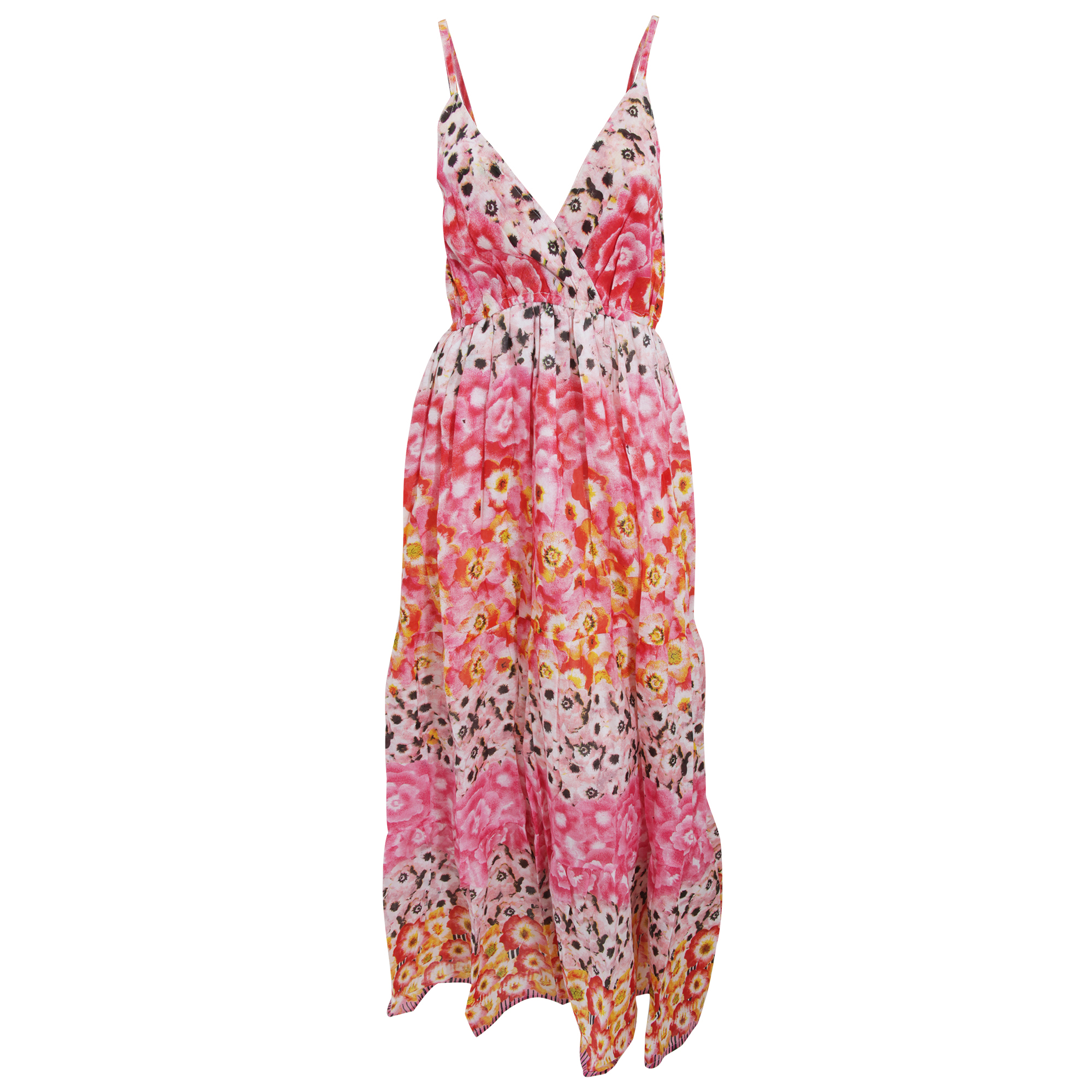 Bulk, Wholesale, Job Lot, Clearance Assorted Clothing (Dresses, Tops, Footwear And More) (Box 25) (Womens Pink Flower Maxi Dresses (Set Of 35))