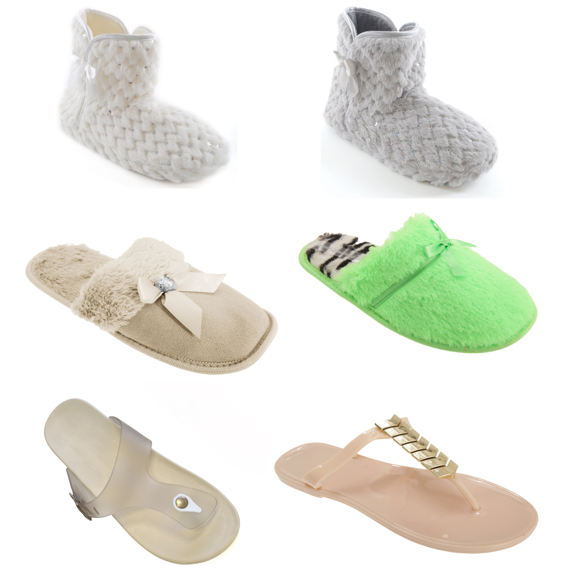 Bulk, Wholesale, Job Lot, Clearance Assorted Clothing (Dresses, Tops, Footwear And More) (Box 3) (Assorted Womens Footwear (21 Pairs))