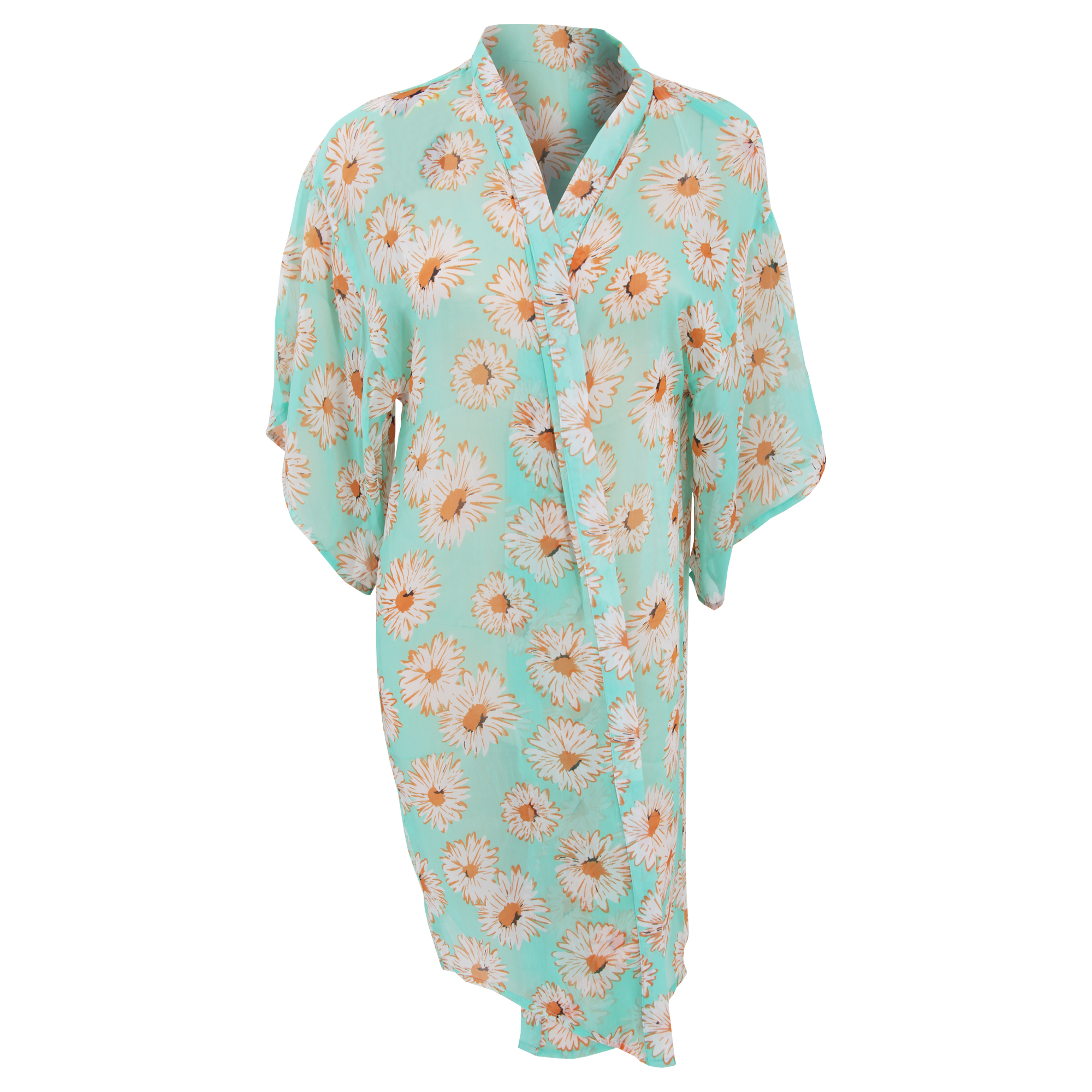 Bulk, Wholesale, Job Lot, Clearance Assorted Clothing (Dresses, Tops, Footwear And More) (Box 4) (Womens Green Beach Shirts (Set of 40))
