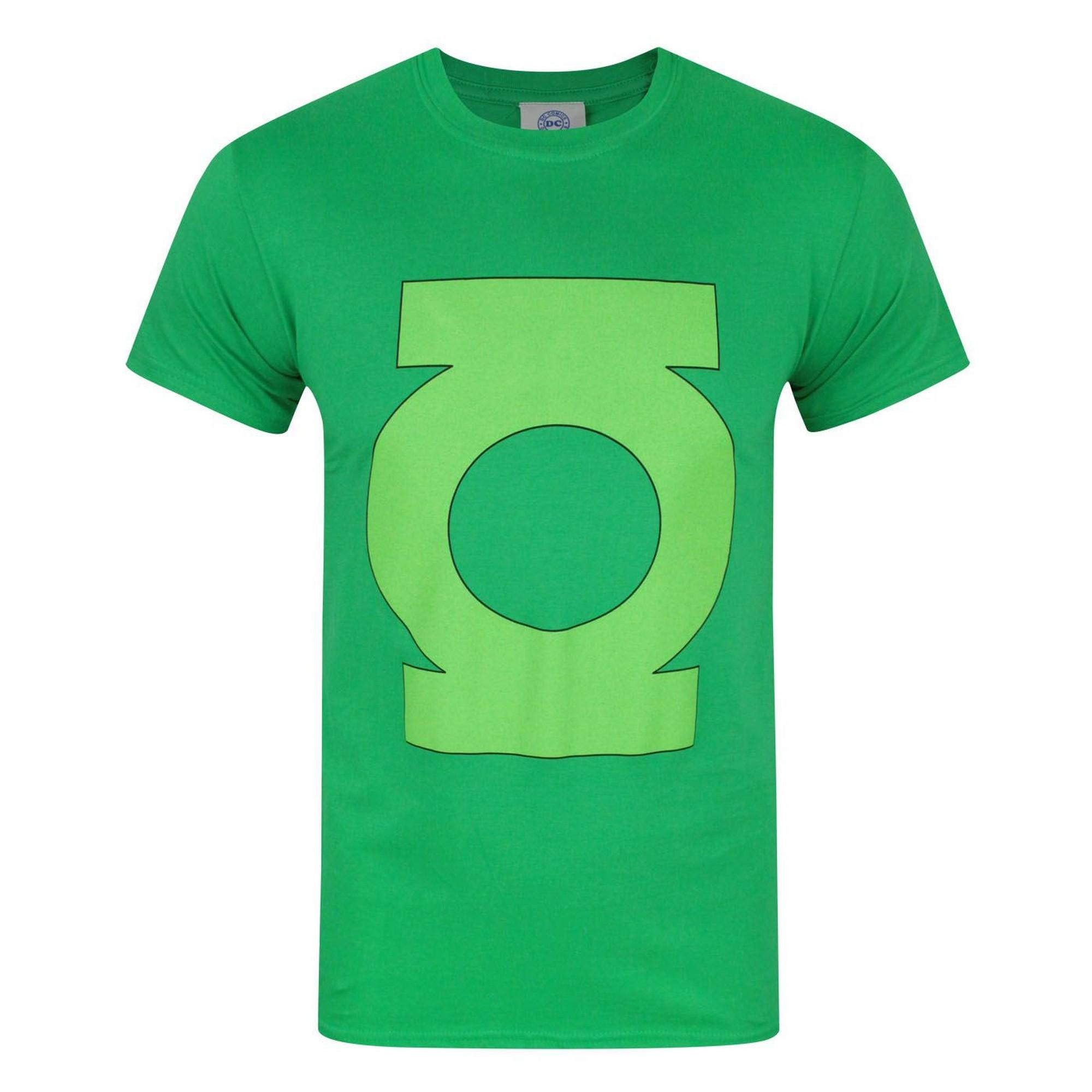 Green Lantern Mens Logo T-Shirt (M) (Green)