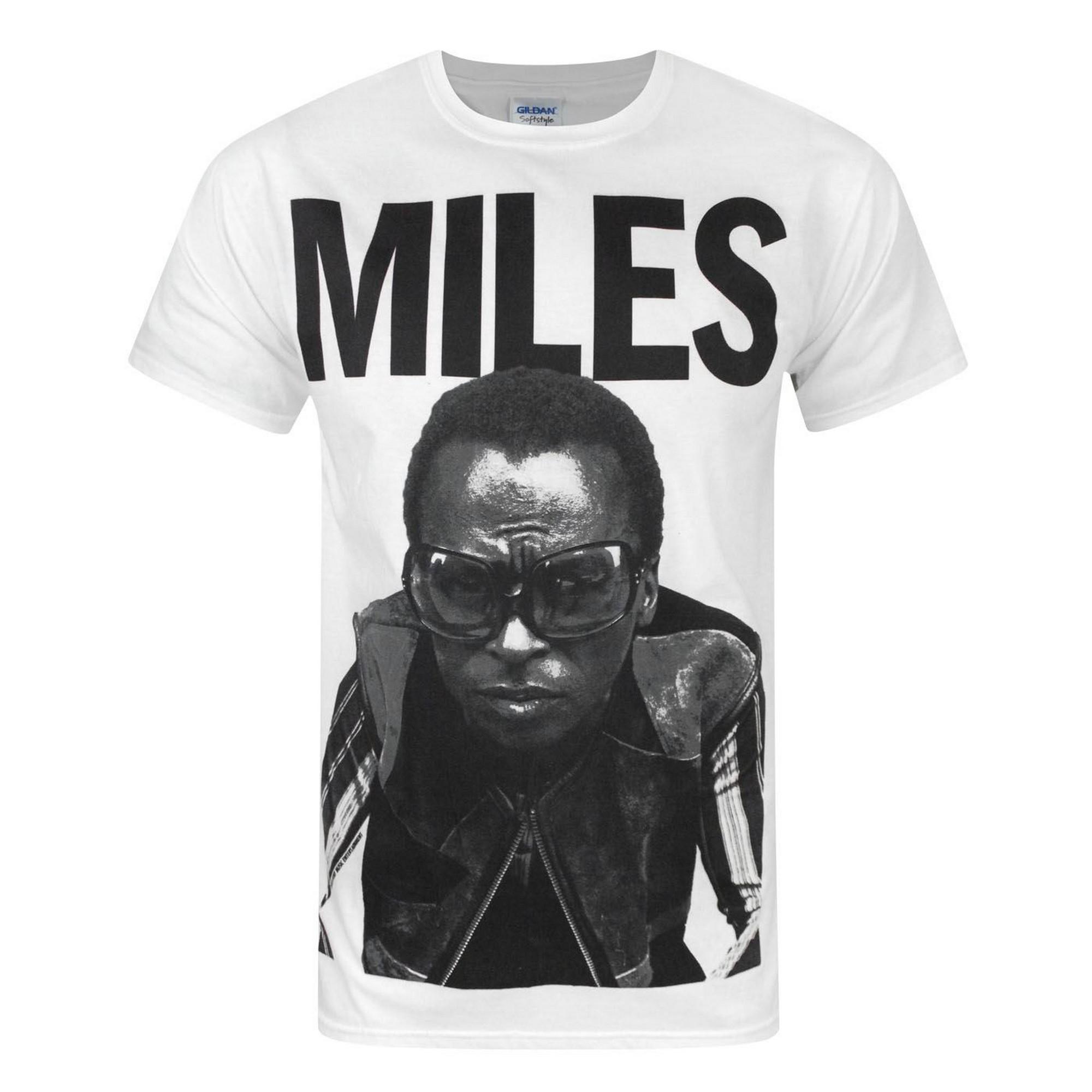 7ca6f34f Details about Miles Davis Mens Portrait T-Shirt (NS4085)