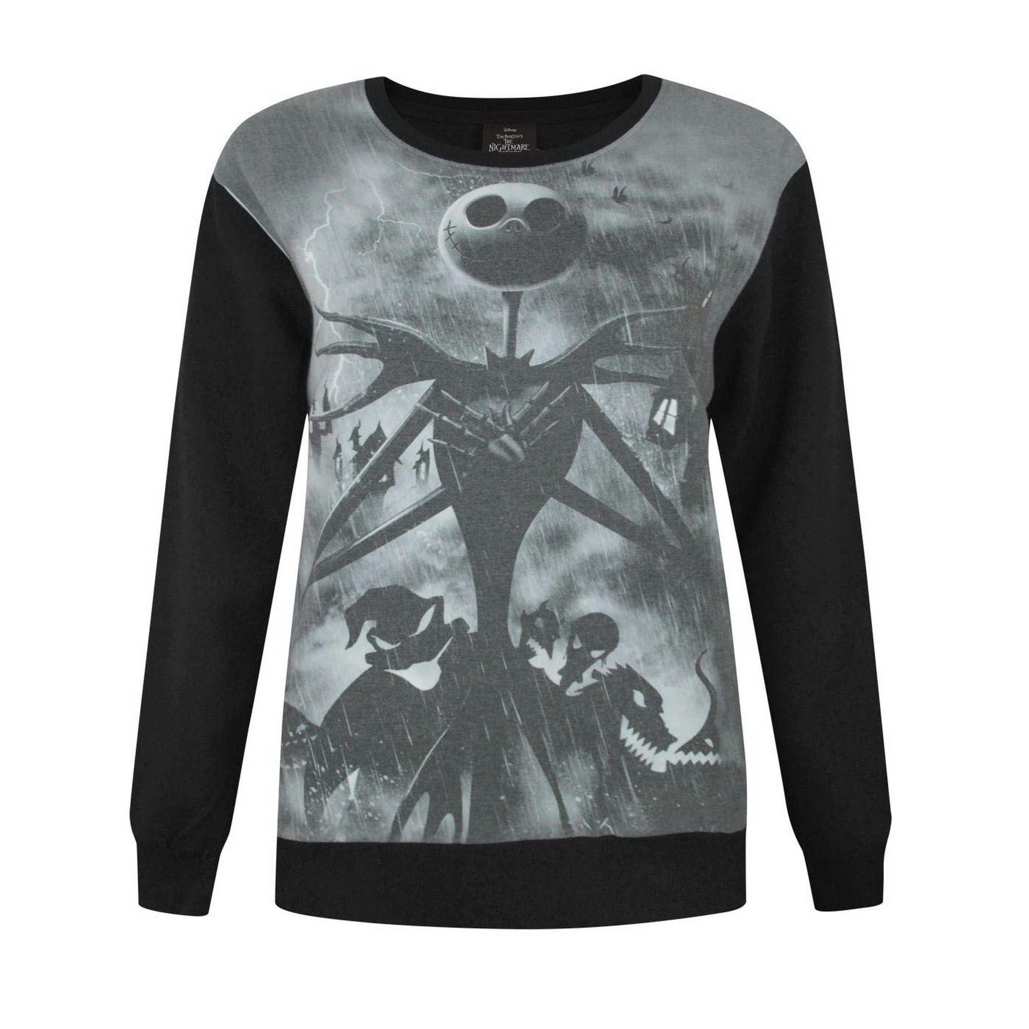 Nightmare Before Christmas Womens/Ladies Sublimation Sweater (NS4243 ...