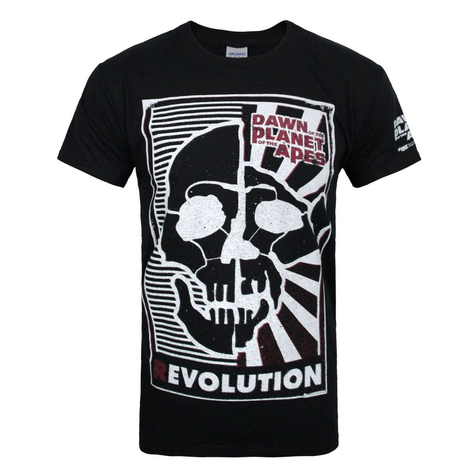 Dawn Of The Planet Of The Apes Official Mens Revolution T-Shirt (L) (Black)