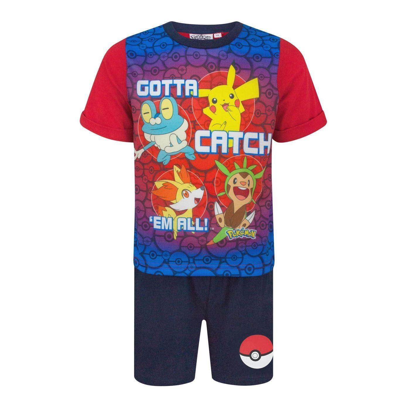 Pokemon-Childrens-Boys-Gotta-Catch-Em-All-Short-Pyjamas-NS4874