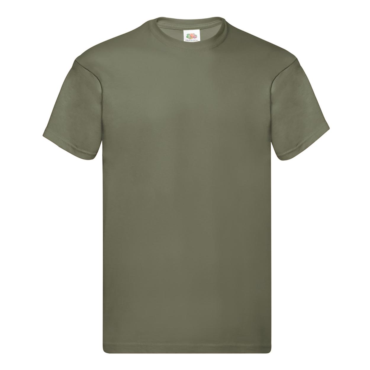 Fruit-Of-The-Loom-Camiseta-original-de-manga-corta-para-hombre-PC124