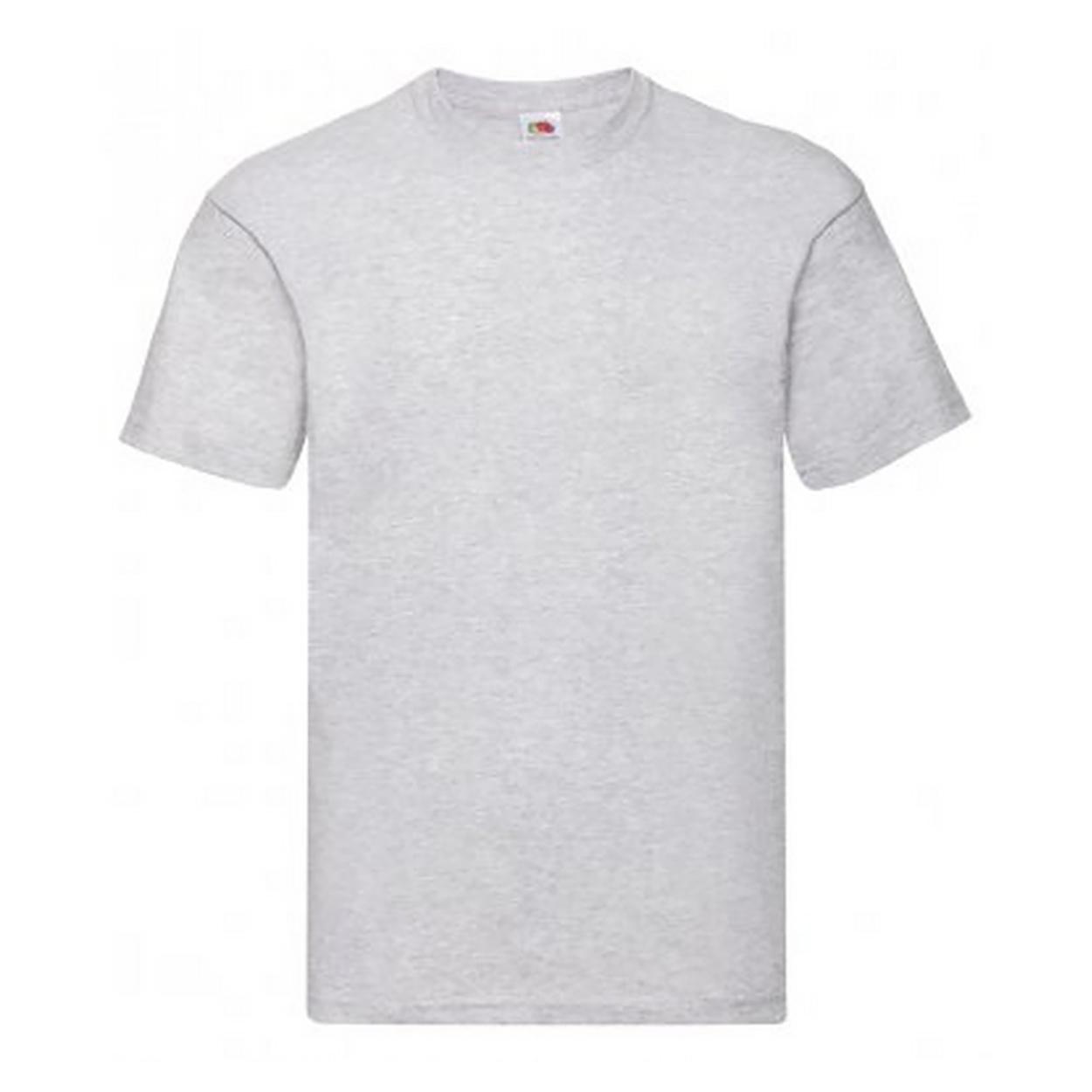 Fruit Of The Loom Mens Original Short Sleeve T-Shirt (L) (Heather)