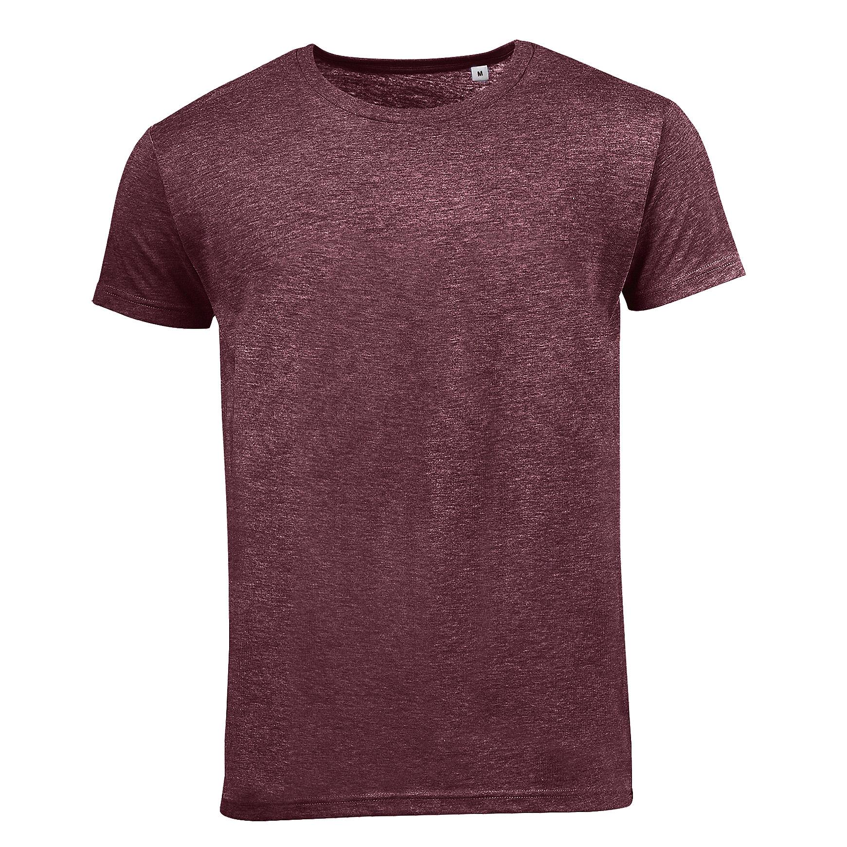 SOLS Mens Mixed Short Sleeve T-Shirt (XXL) (Grey Marl)