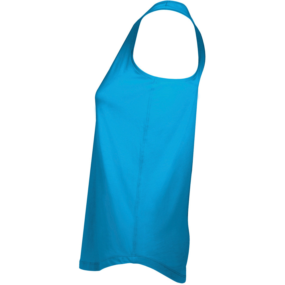 SOLS-Womens-Ladies-Moka-Plain-Sleeveless-Tank-Top-PC2433 miniatura 5