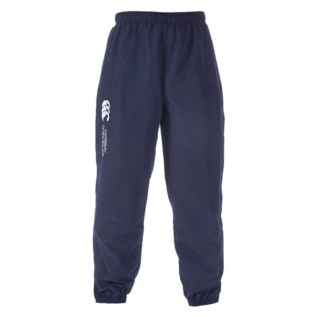 Canterbury Mens Stadium Cuffed Elasticated Sports Trousers (XXL) (Navy)