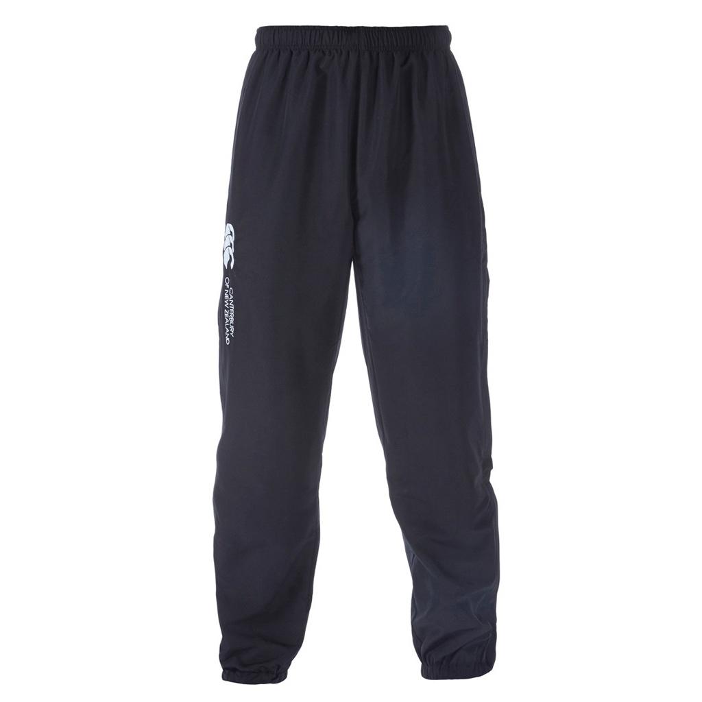 Canterbury Mens Stadium Cuffed Elasticated Sports Trousers (L) (Black)