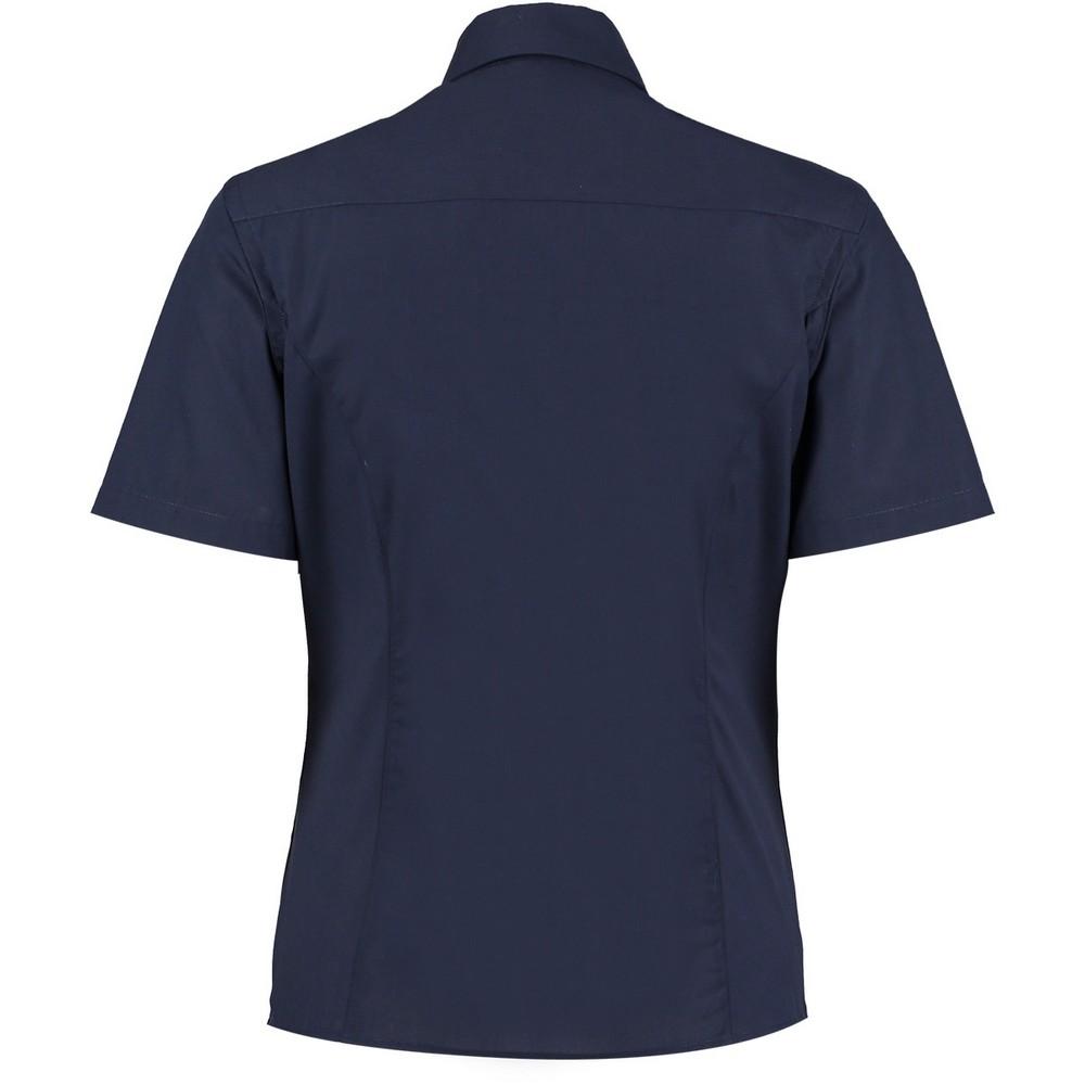 Kustom-Kit-Womens-Ladies-Short-Sleeve-Business-Work-Shirt-PC2509