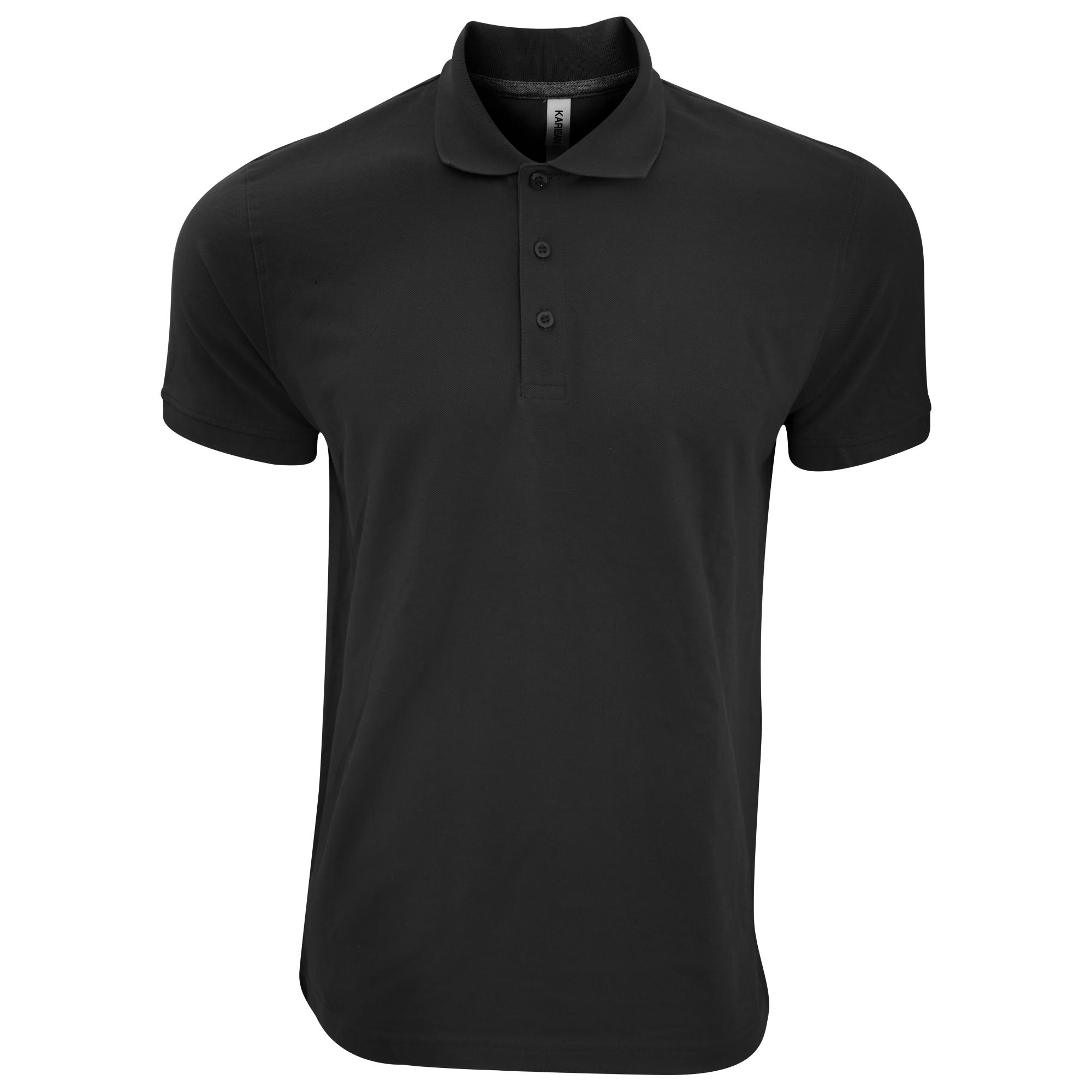 Kariban-Mens-Short-Sleeve-Cotton-Pique-Polo-Shirt-PC2535