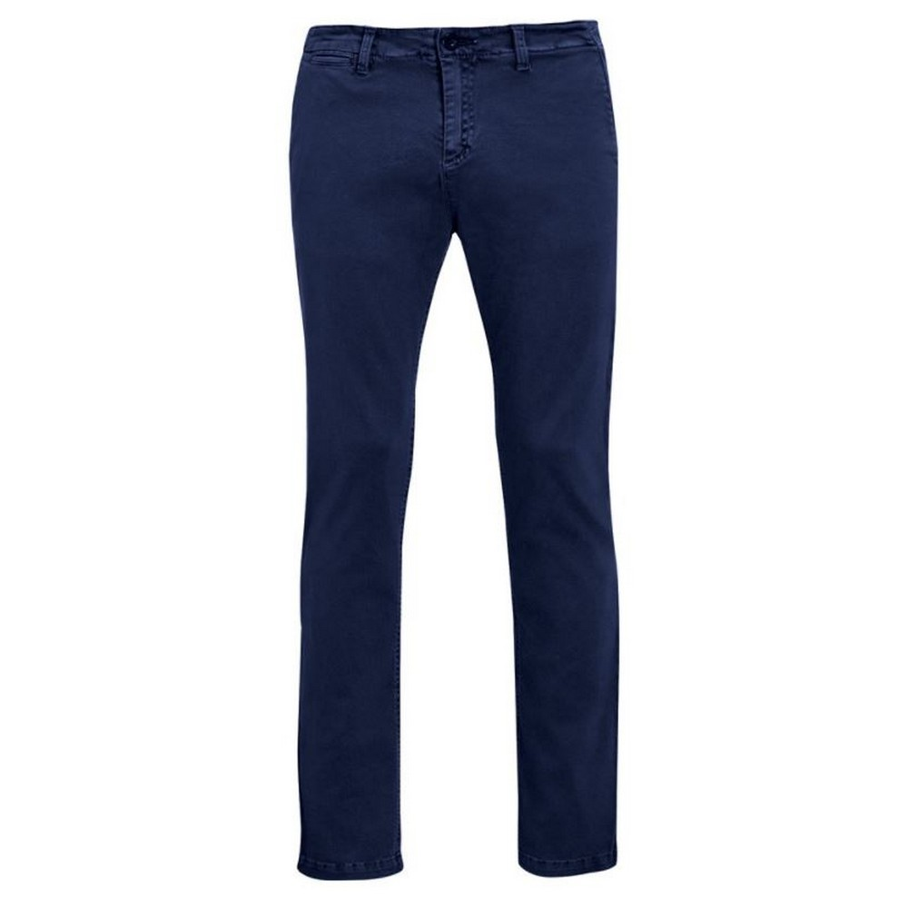SOLS Mens Jules Chino Trousers (38) (French Navy)