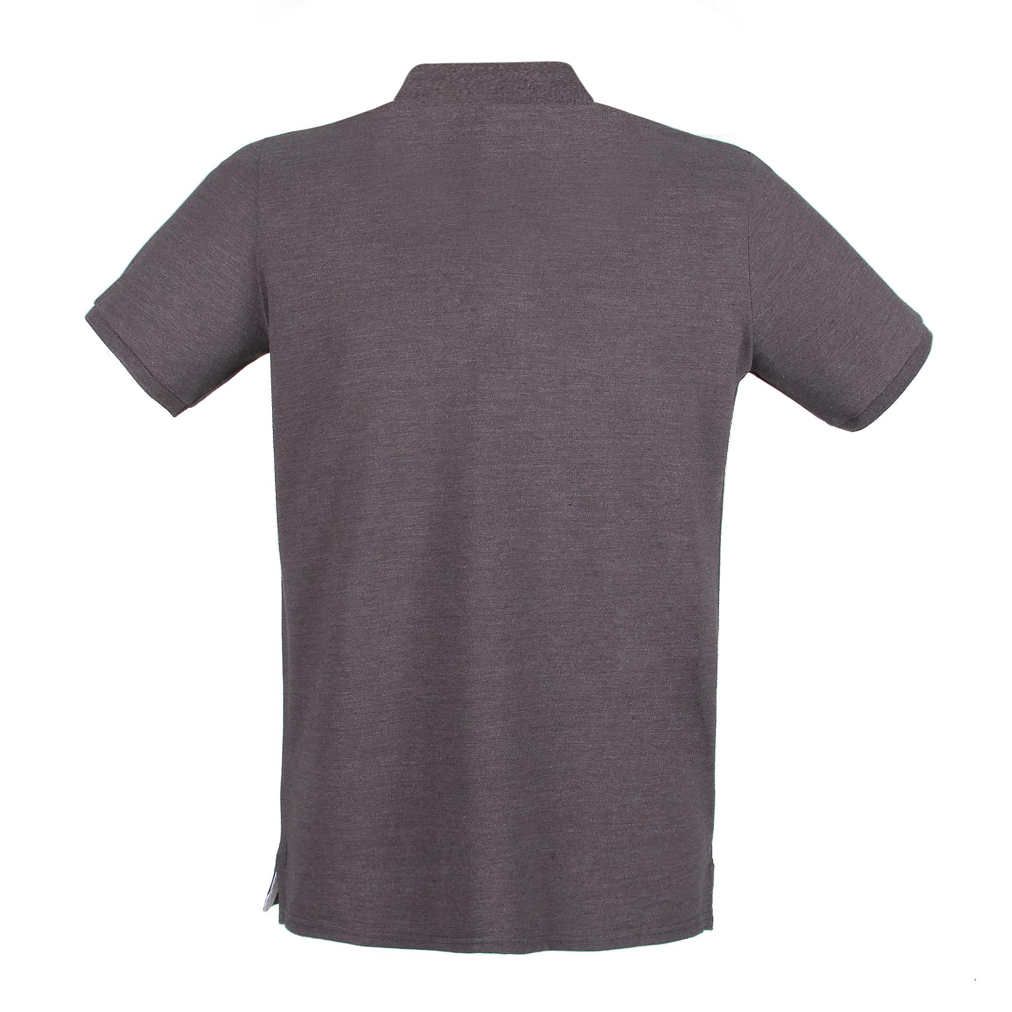 Henbury Mens Modern Fit Cotton Pique Polo Shirt (3XL) (Magenta)