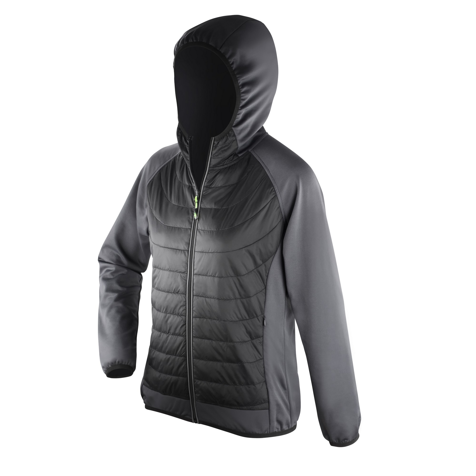Spiro Womens/Ladies Zero Gravity Showerproof Jacket (M) (Black/Charcoal)