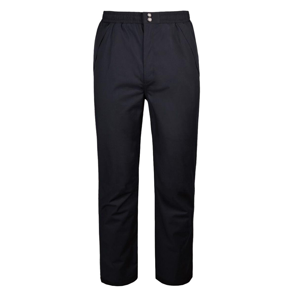 Sunderland Mens Lightweight Waterproof Trousers (XL/L) (Black)