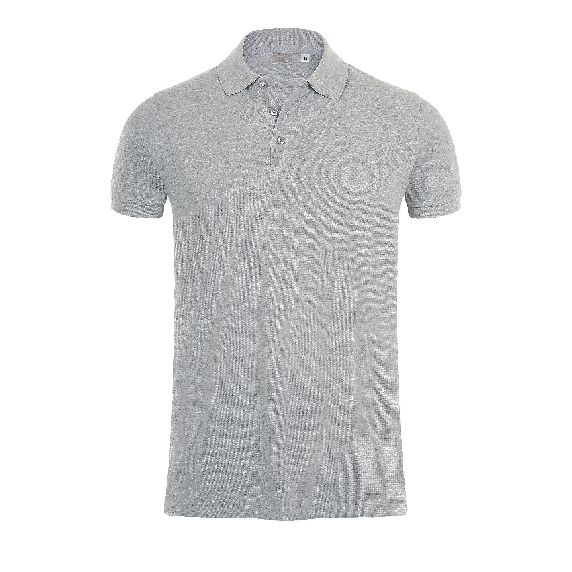 SOLS Mens Phoenix Short Sleeve Pique Polo Shirt (XL) (Mint)