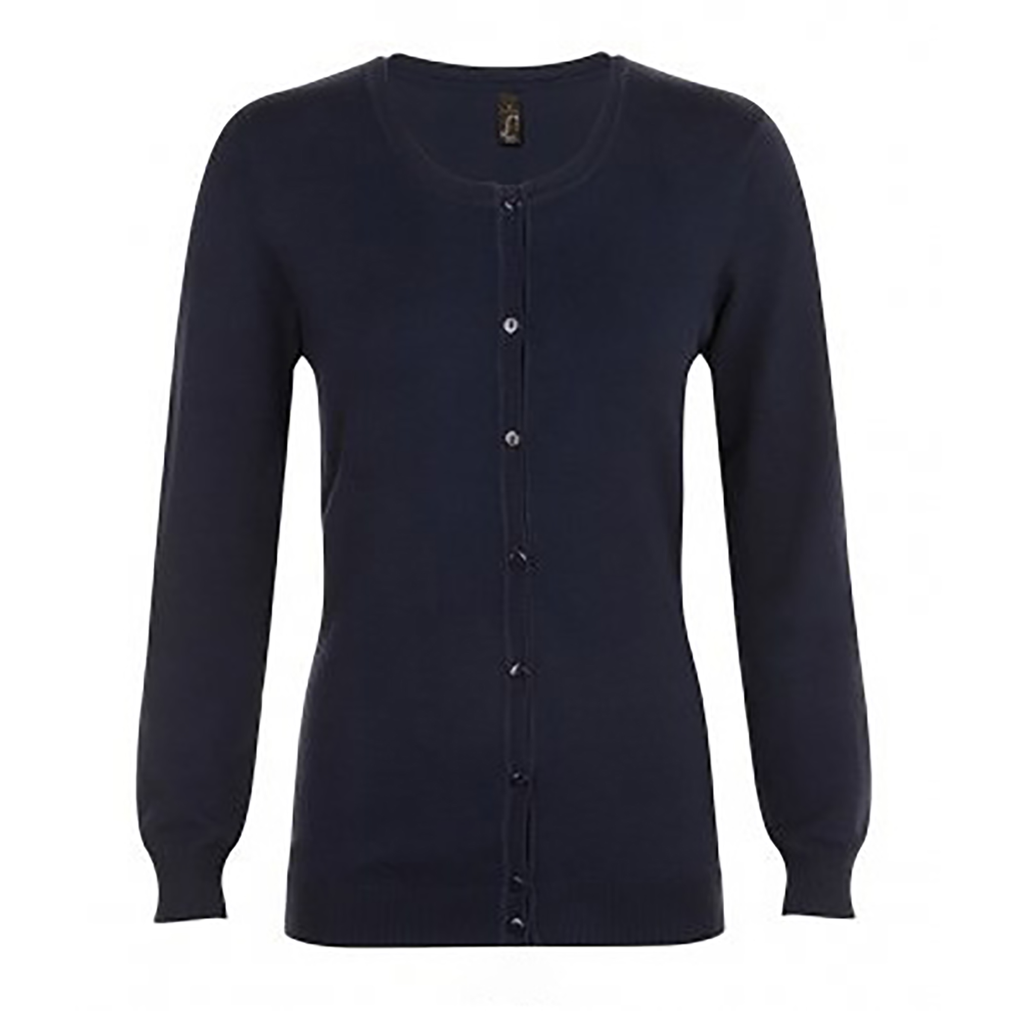 SOLS Womens/Ladies Griffith V Neck Long Sleeve Cardigan (M) (French Navy)