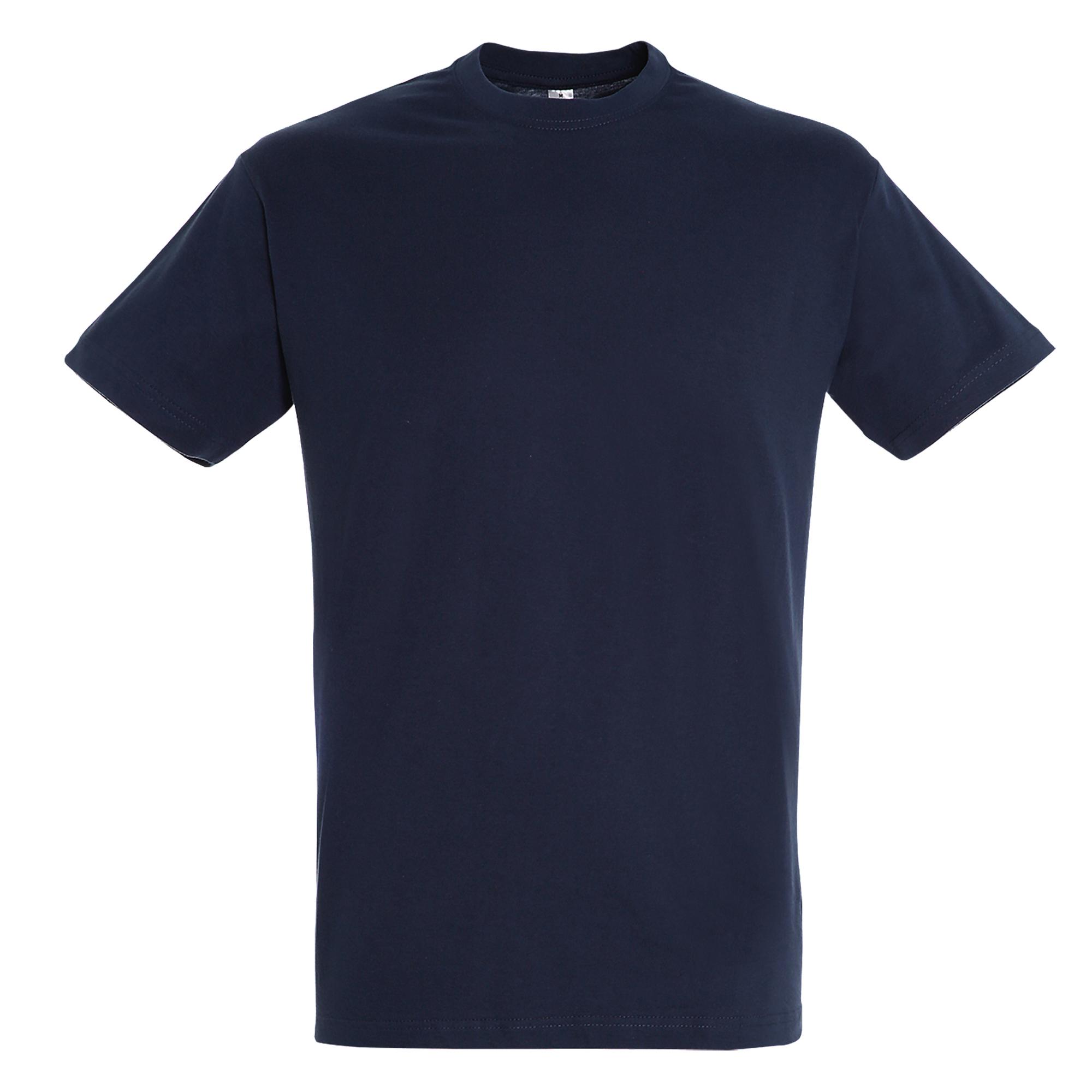 SOLS Mens Regent Short Sleeve T-Shirt (XXL) (French Navy)
