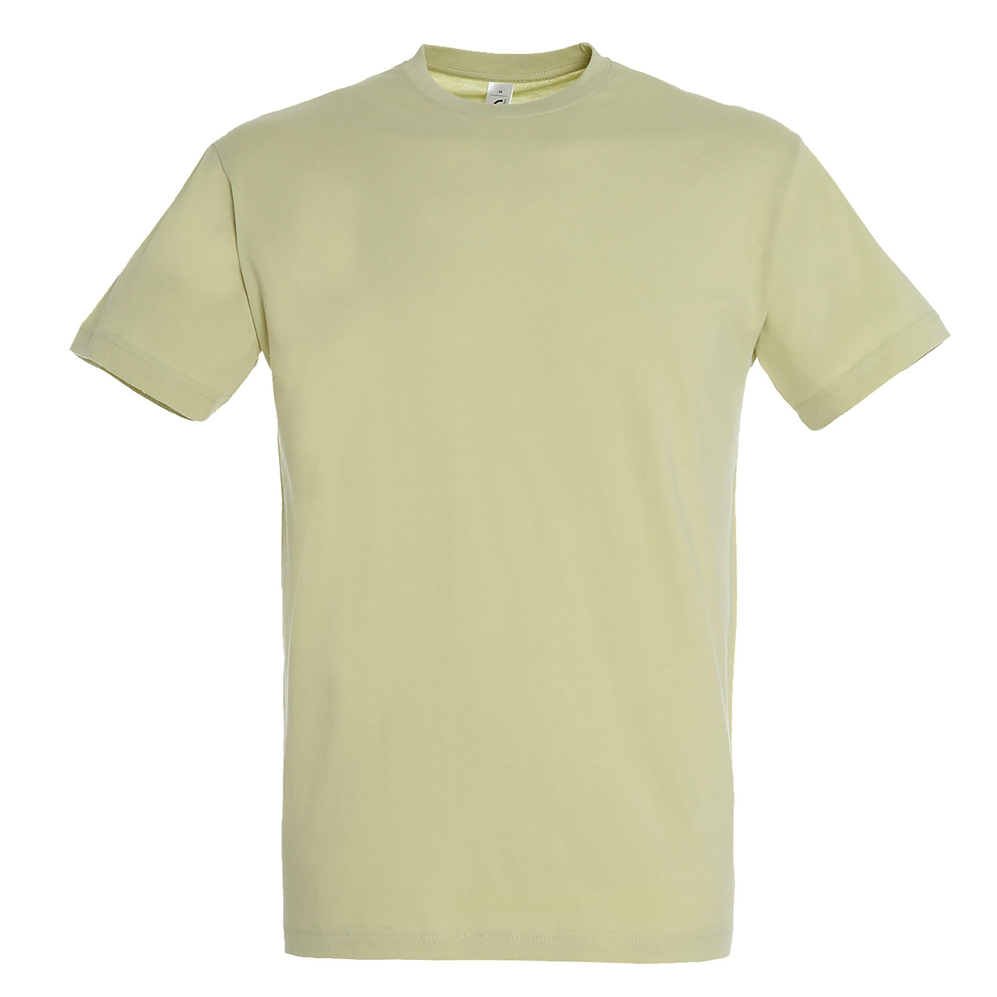 SOLS Mens Regent Short Sleeve T-Shirt (L) (Green Sage)