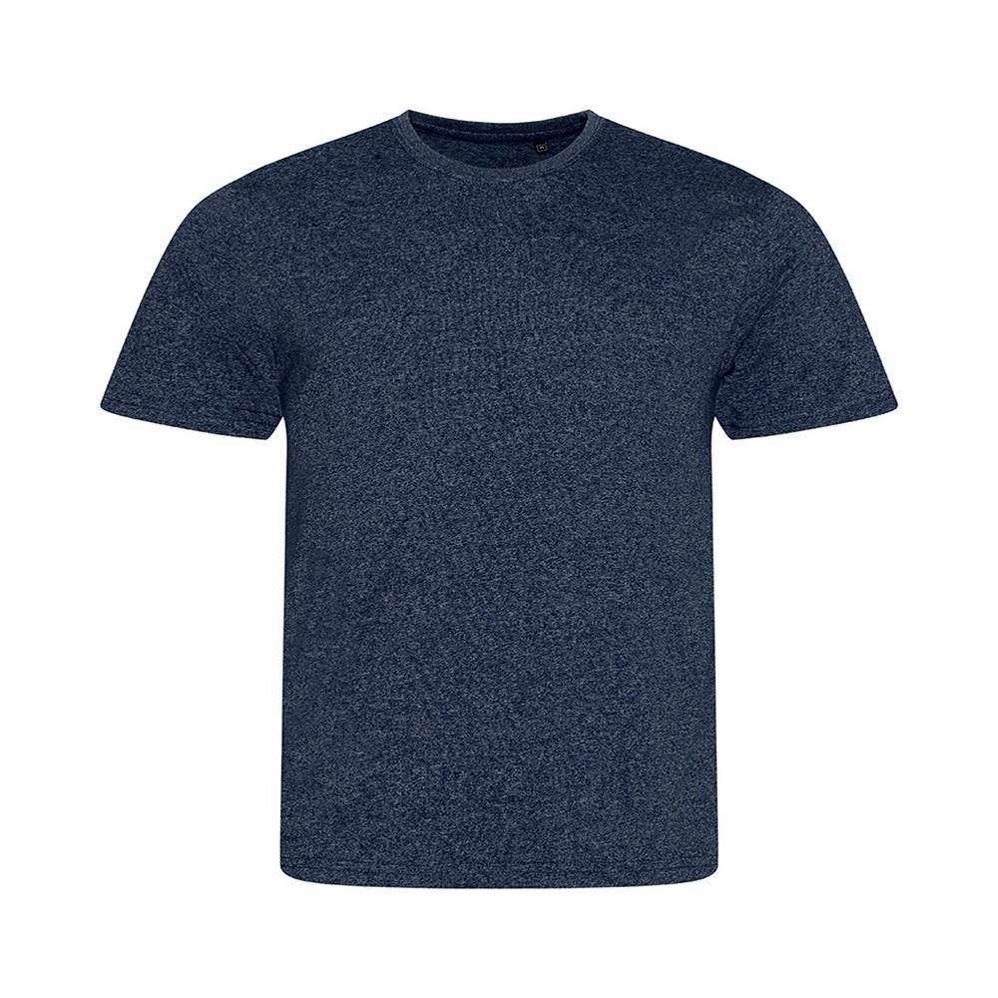 AWDis Mens Space Blend T Shirt (Small) (Navy/White)