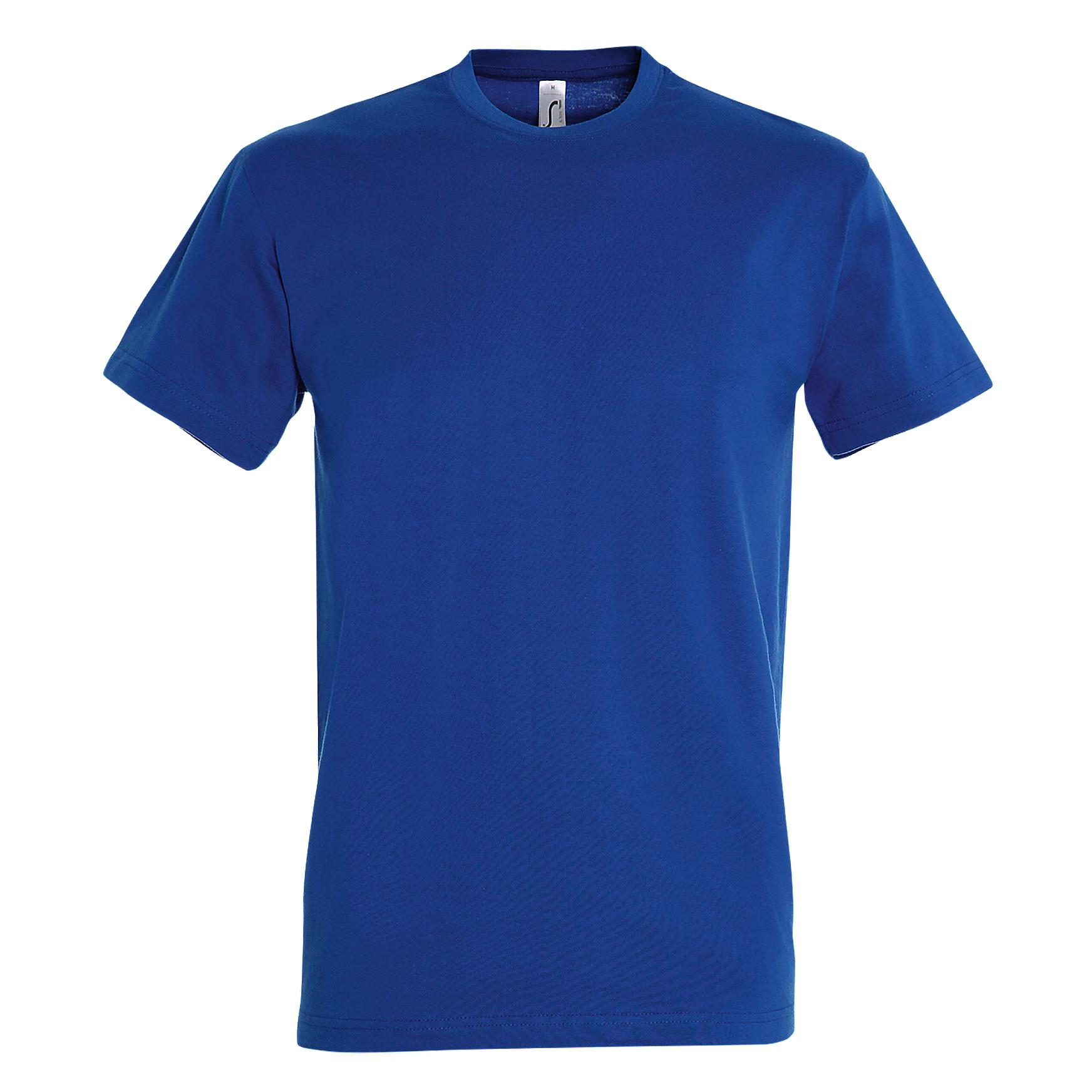 SOLS Mens Imperial Heavyweight Short Sleeve T-Shirt (3XL) (Royal Blue)