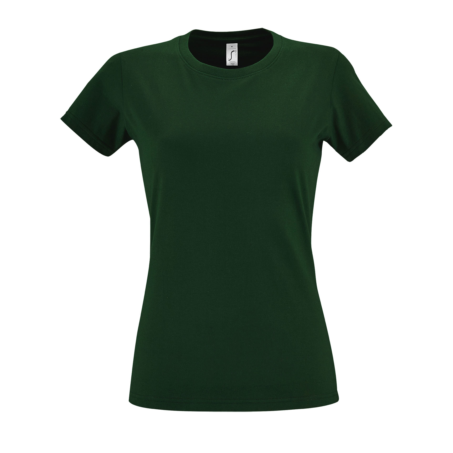 SOLS Womens/Ladies Imperial Heavy Short Sleeve T-Shirt (XL) (Bottle Green)